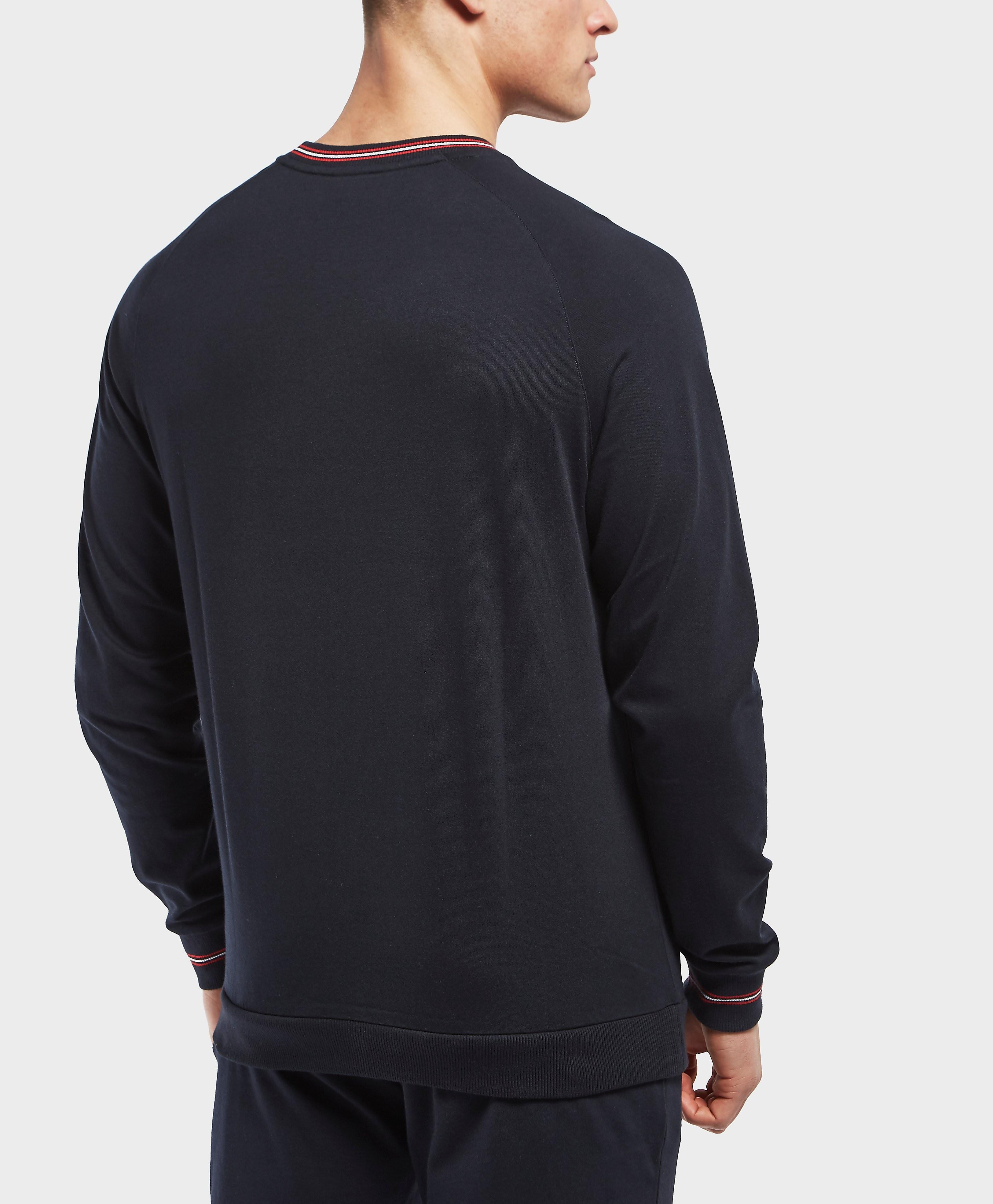 BOSS Trim Logo Crew Sweatshirt