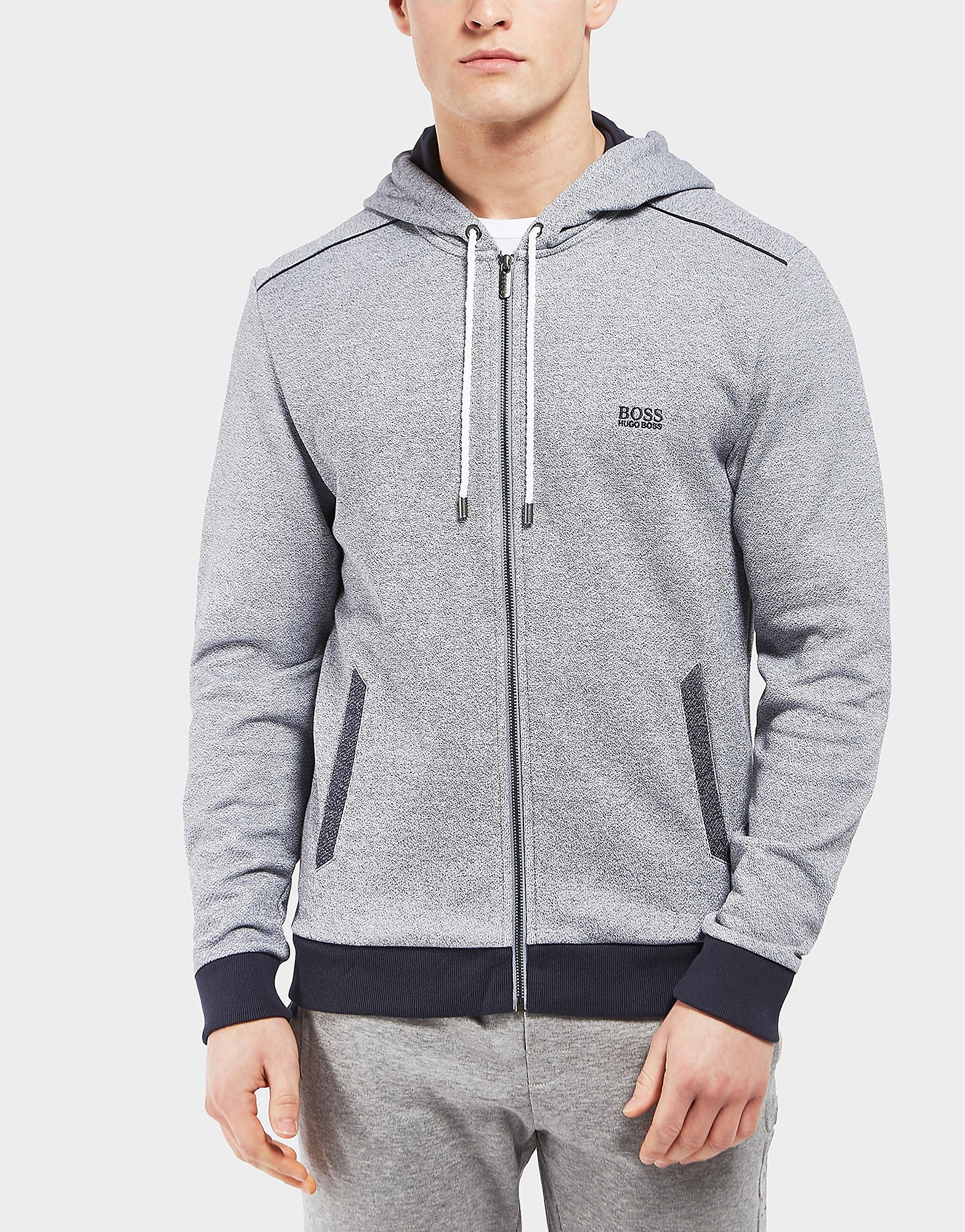 BOSS Marl Full Zip Hoodie - Exclusive