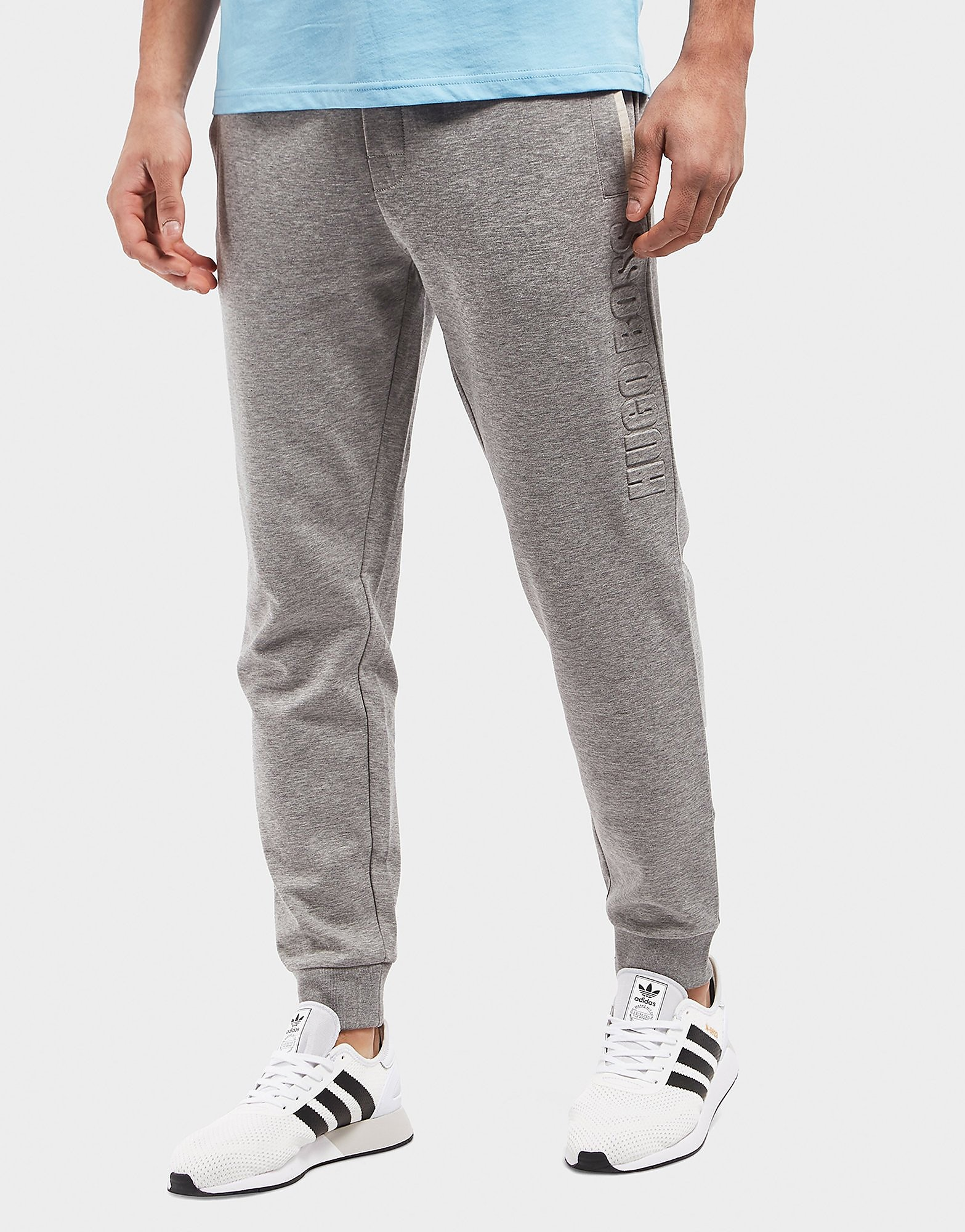 BOSS Embossed Cuffed Track Pants
