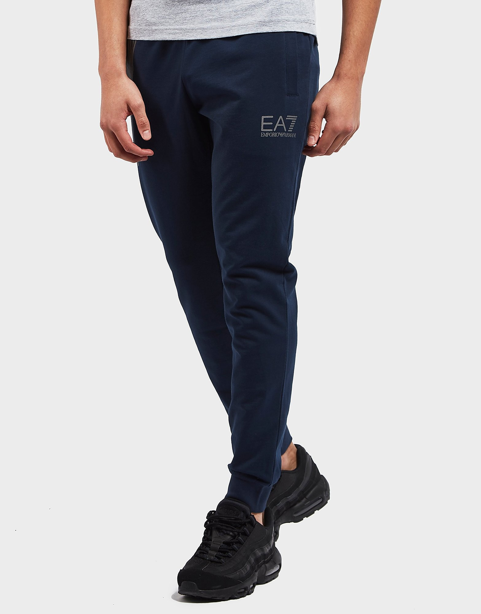 Emporio Armani EA7 7 Lines Cuffed Fleece Pants