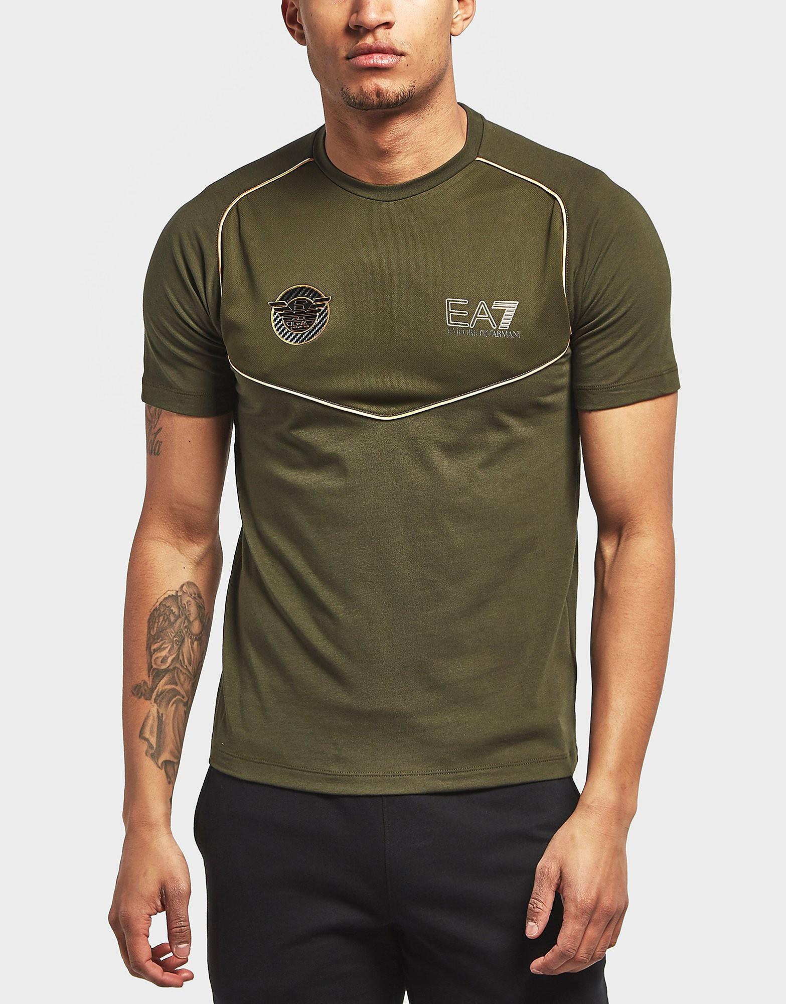 Emporio Armani EA7 Soccer Crew Short Sleeve T-Shirt