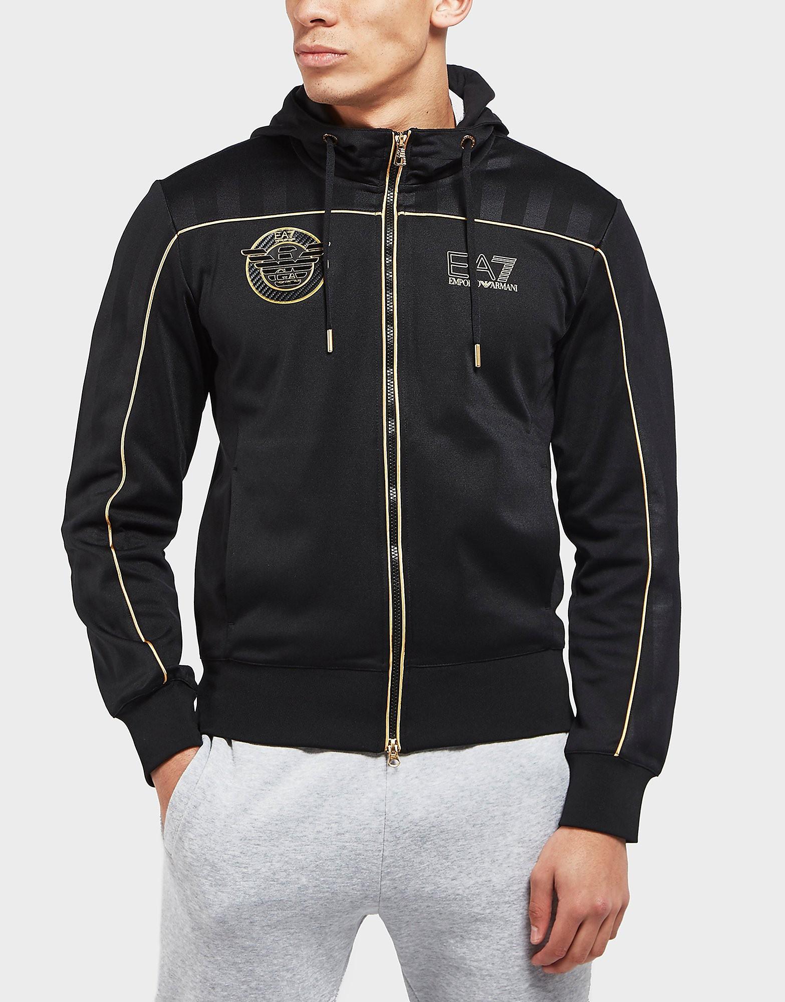 Emporio Armani EA7 Soccer Full Zip Hoodie