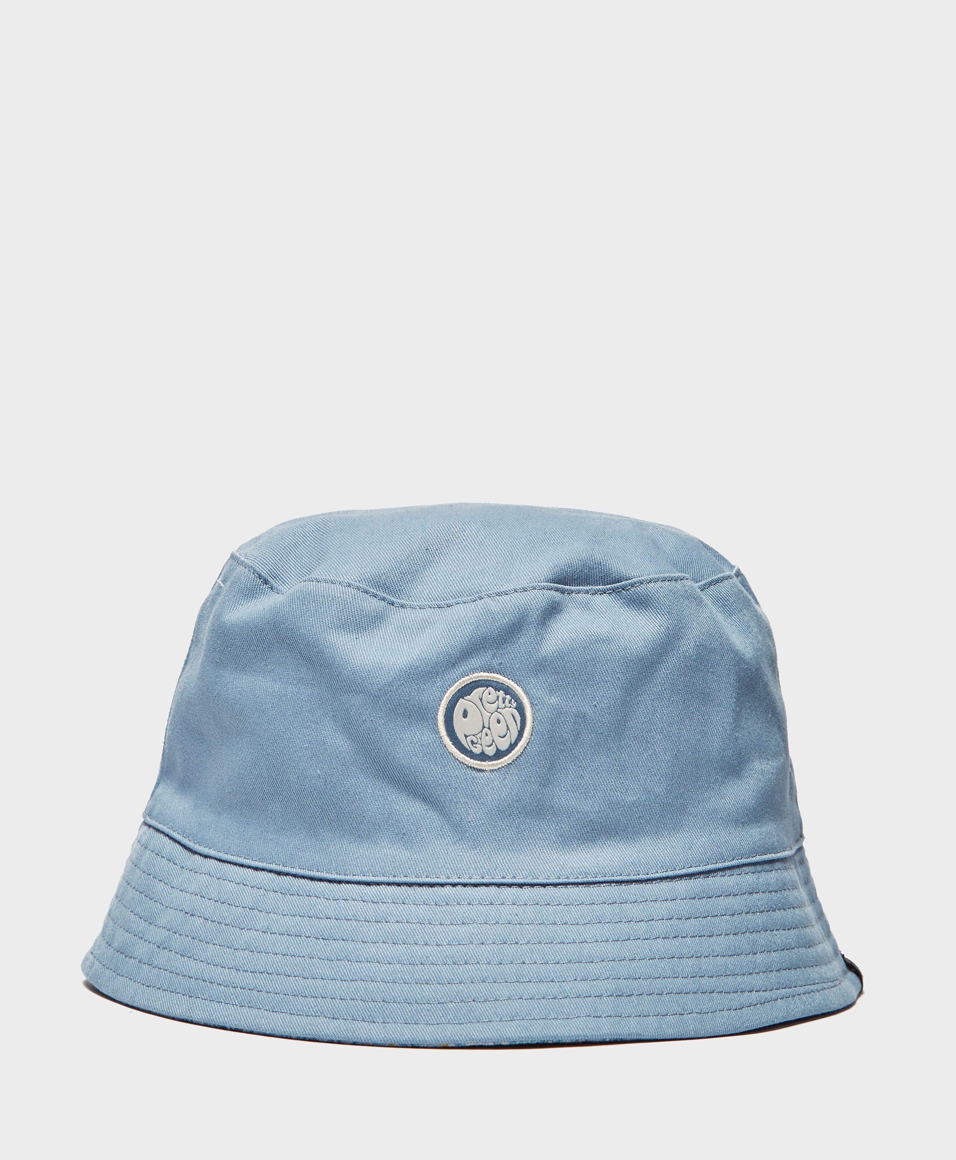 Pretty Green Paisley Reversible Bucket Hat