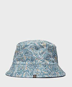 Pretty Green Paisley Reversible Bucket Hat Pretty Green Paisley Reversible Bucket  Hat 6fb37c191bf