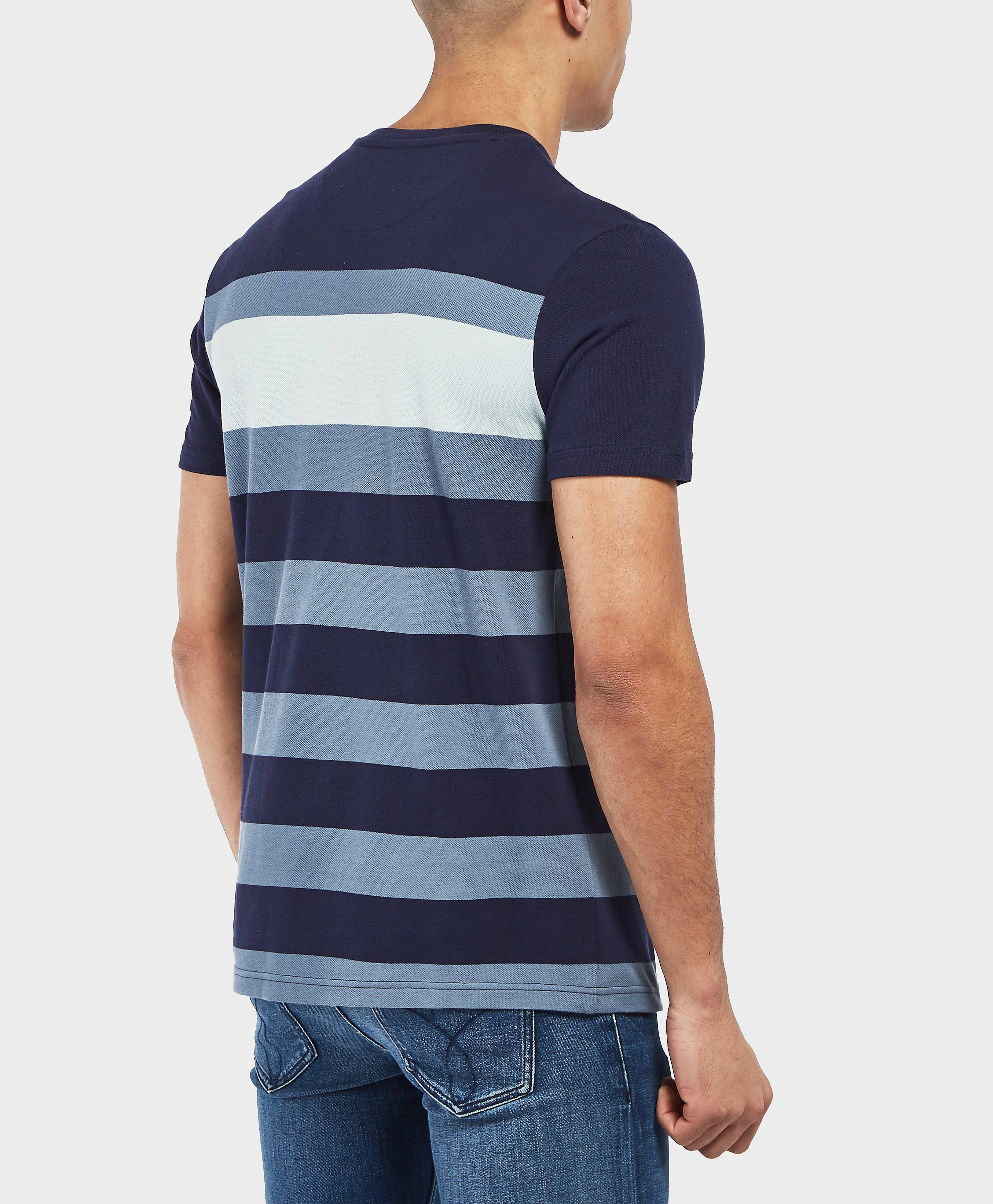 Lyle & Scott Large Stripe Short Sleeve T-Shirt