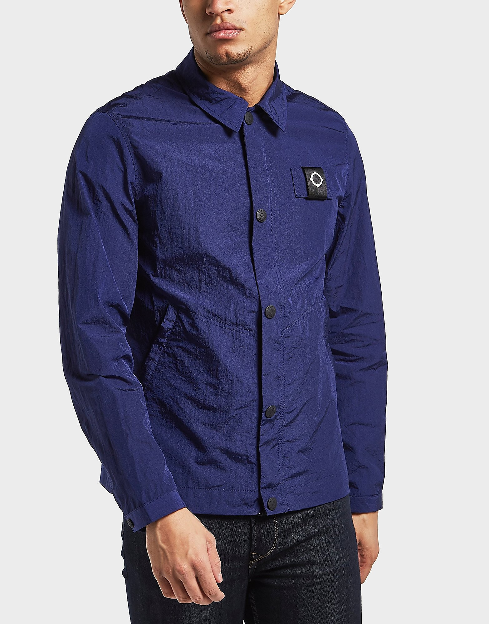 MA STRUM Eagle Long Sleeve Overshirt