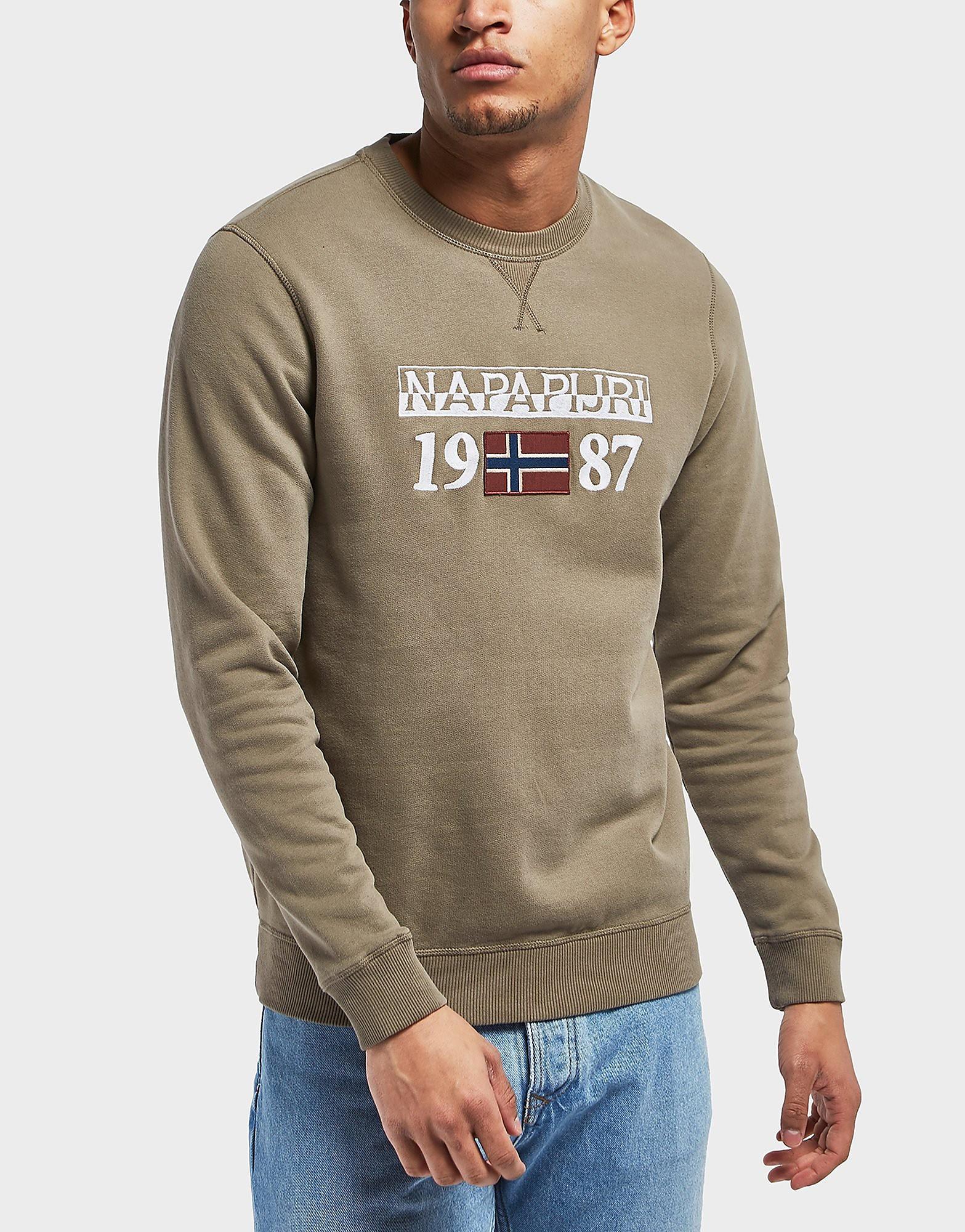 Napapijri Berthrow Crew Sweatshirt - Exclusive