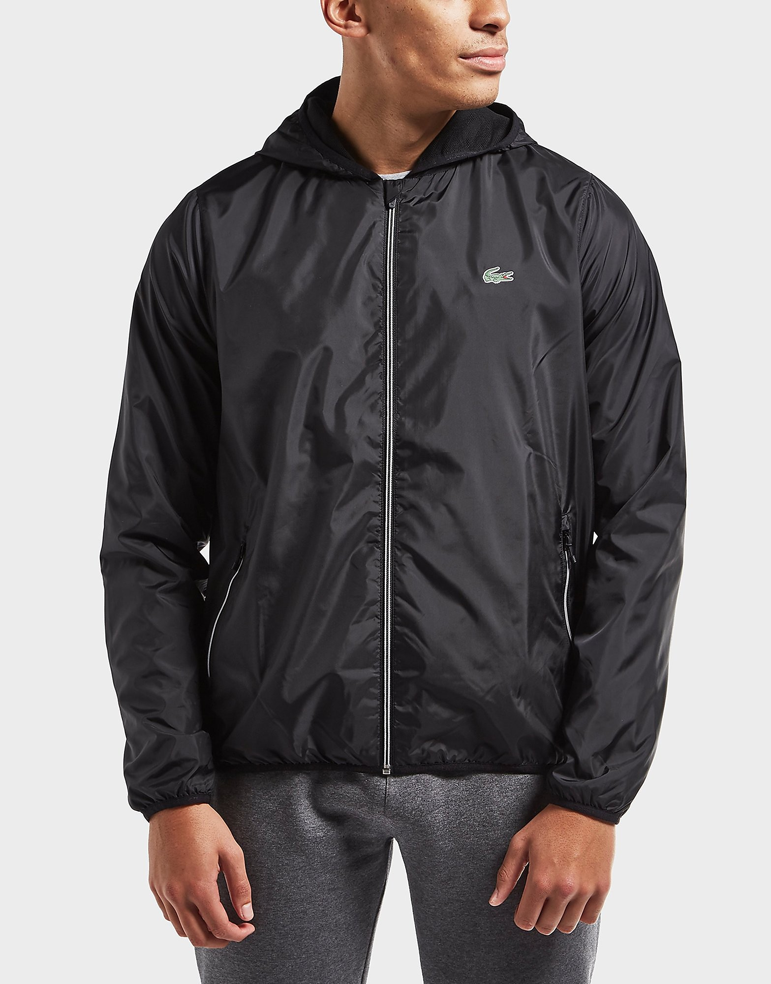 Lacoste Lightweight Hooded Jacket