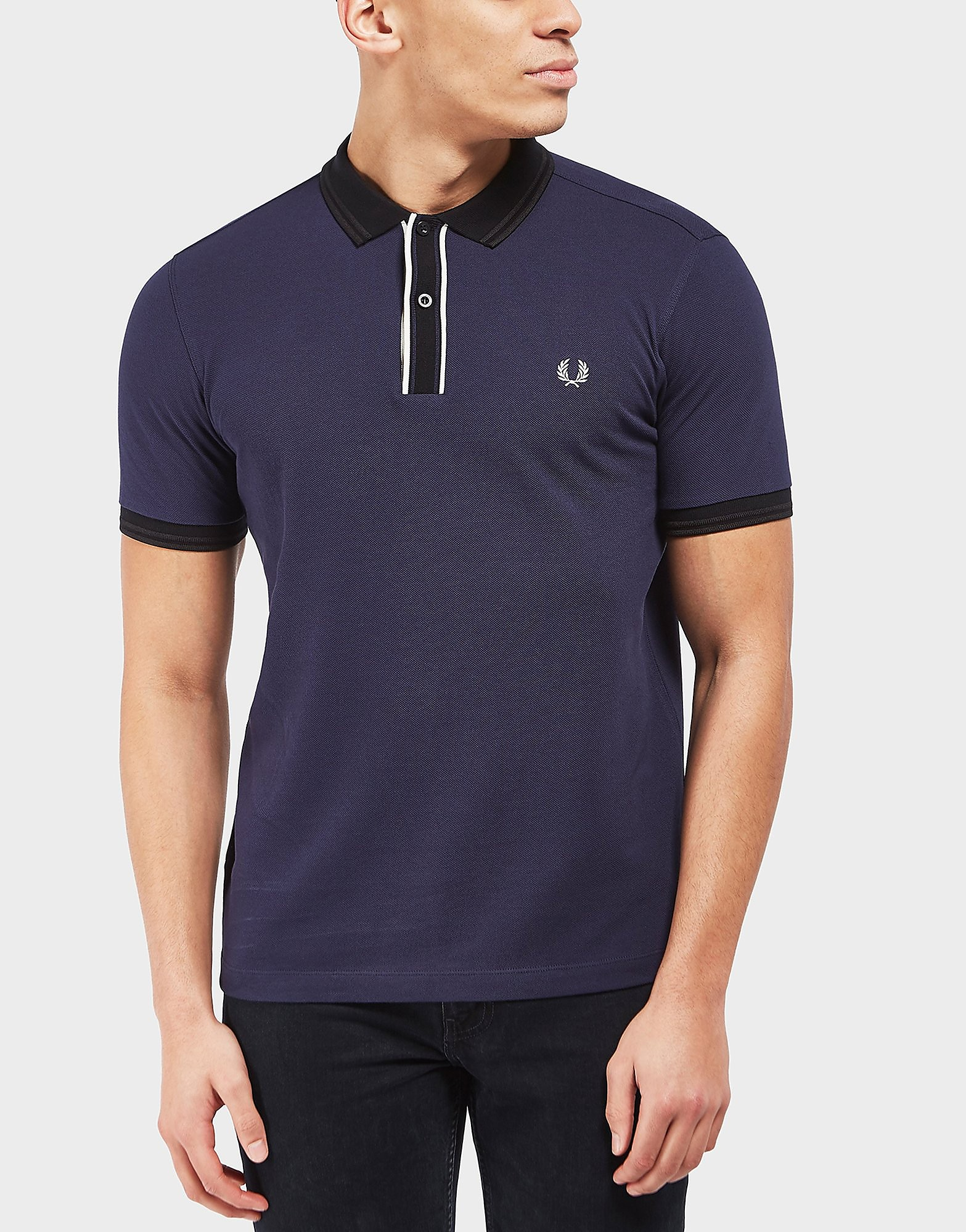 Fred Perry Tipped Placket Short Sleeve T-Shirt
