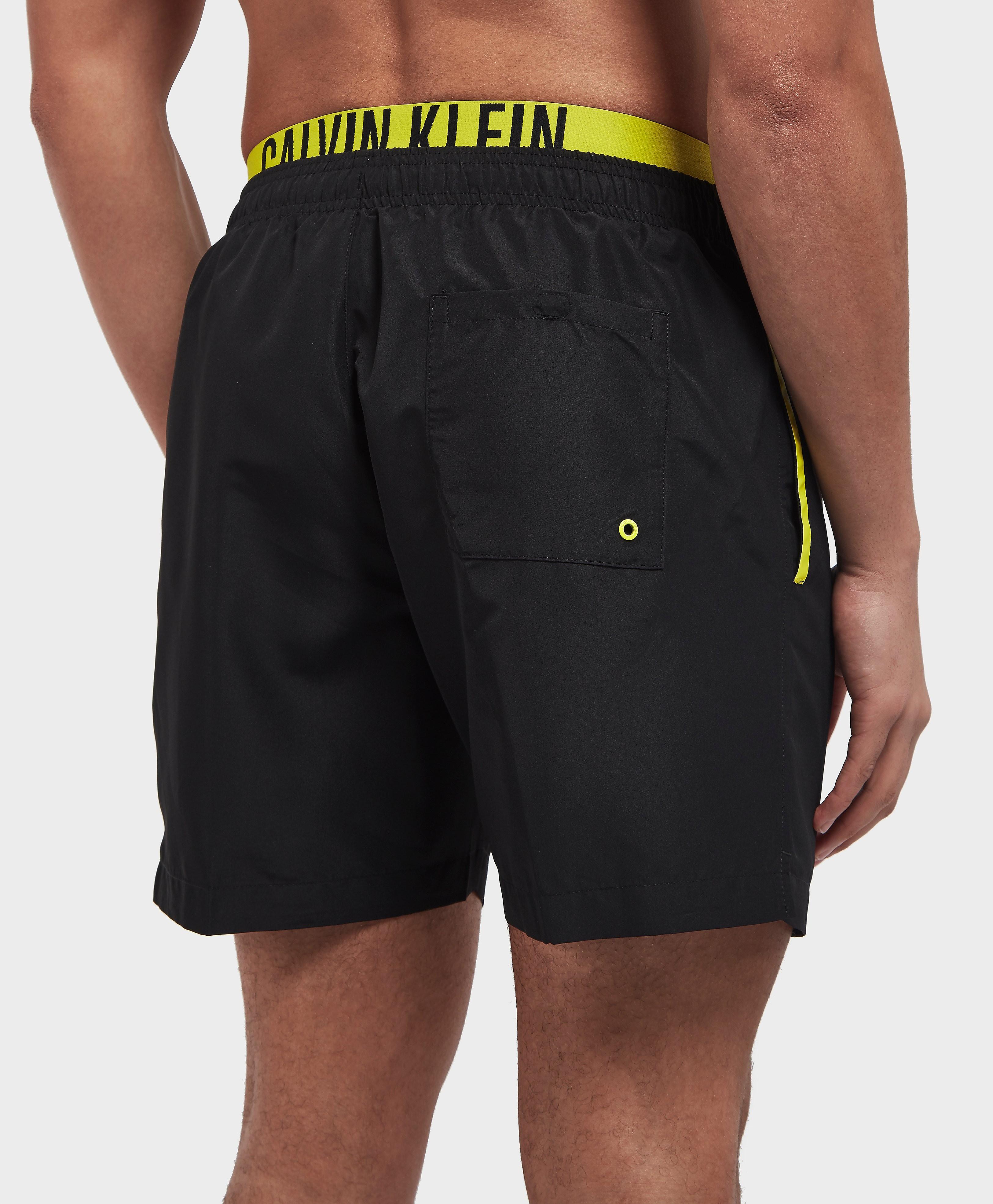Calvin Klein Double Waistband Swim Shorts