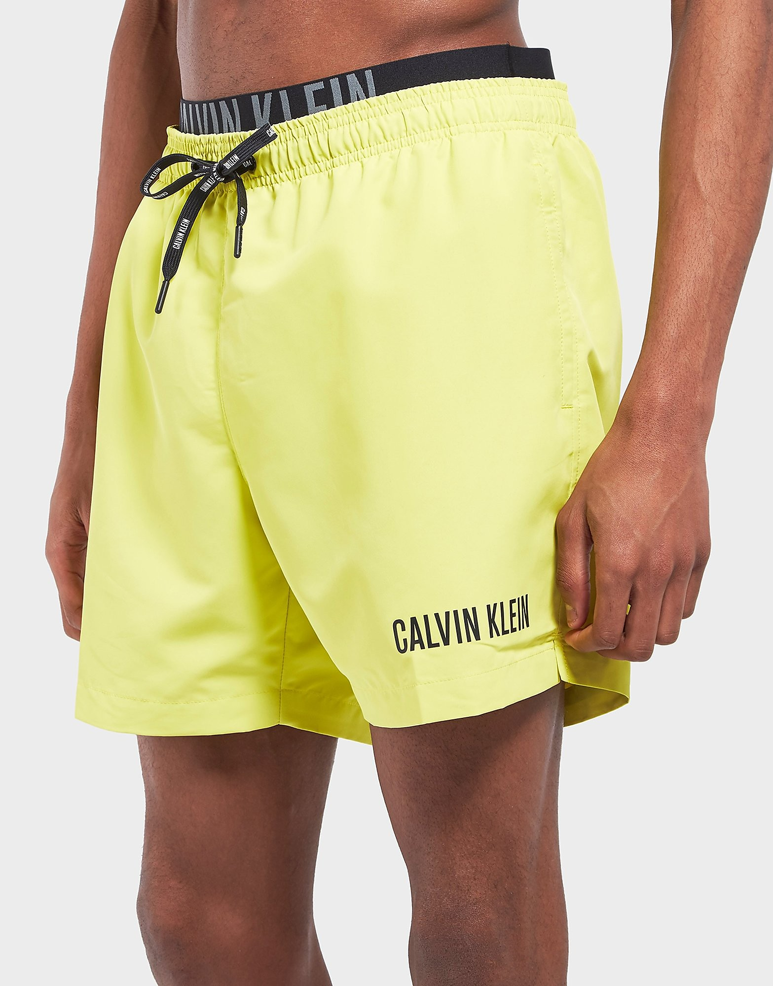 Calvin Klein Double Waistband Swim Shorts