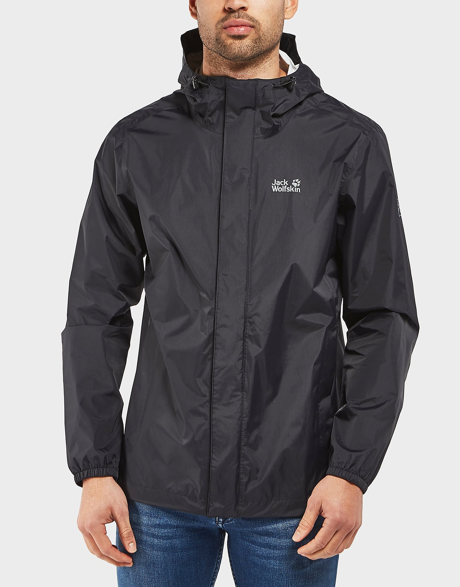 Jack Wolfskin Cloudburst Lightweight Hooded Jacket