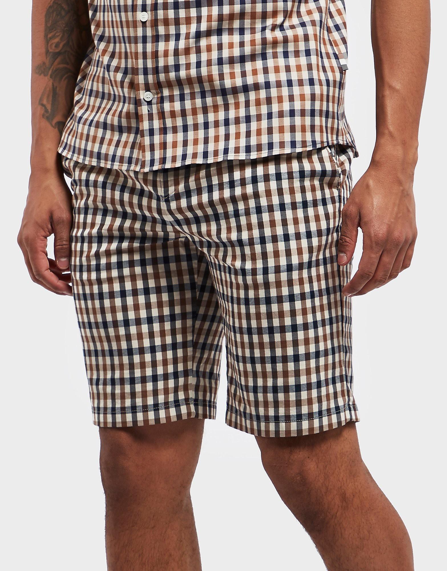 Aquascutum Club Check Chino Shorts
