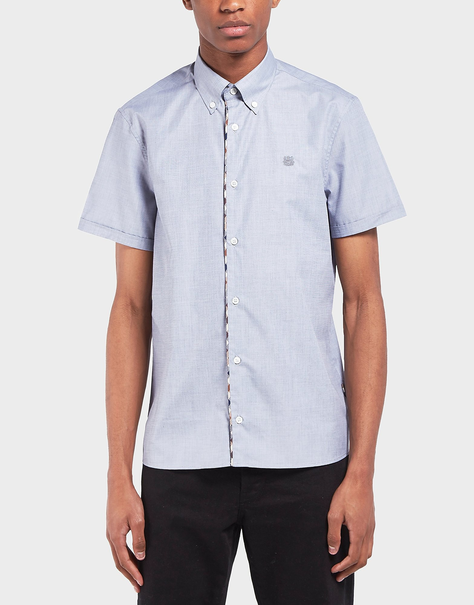 Aquascutum End On End Short Sleeve Shirt