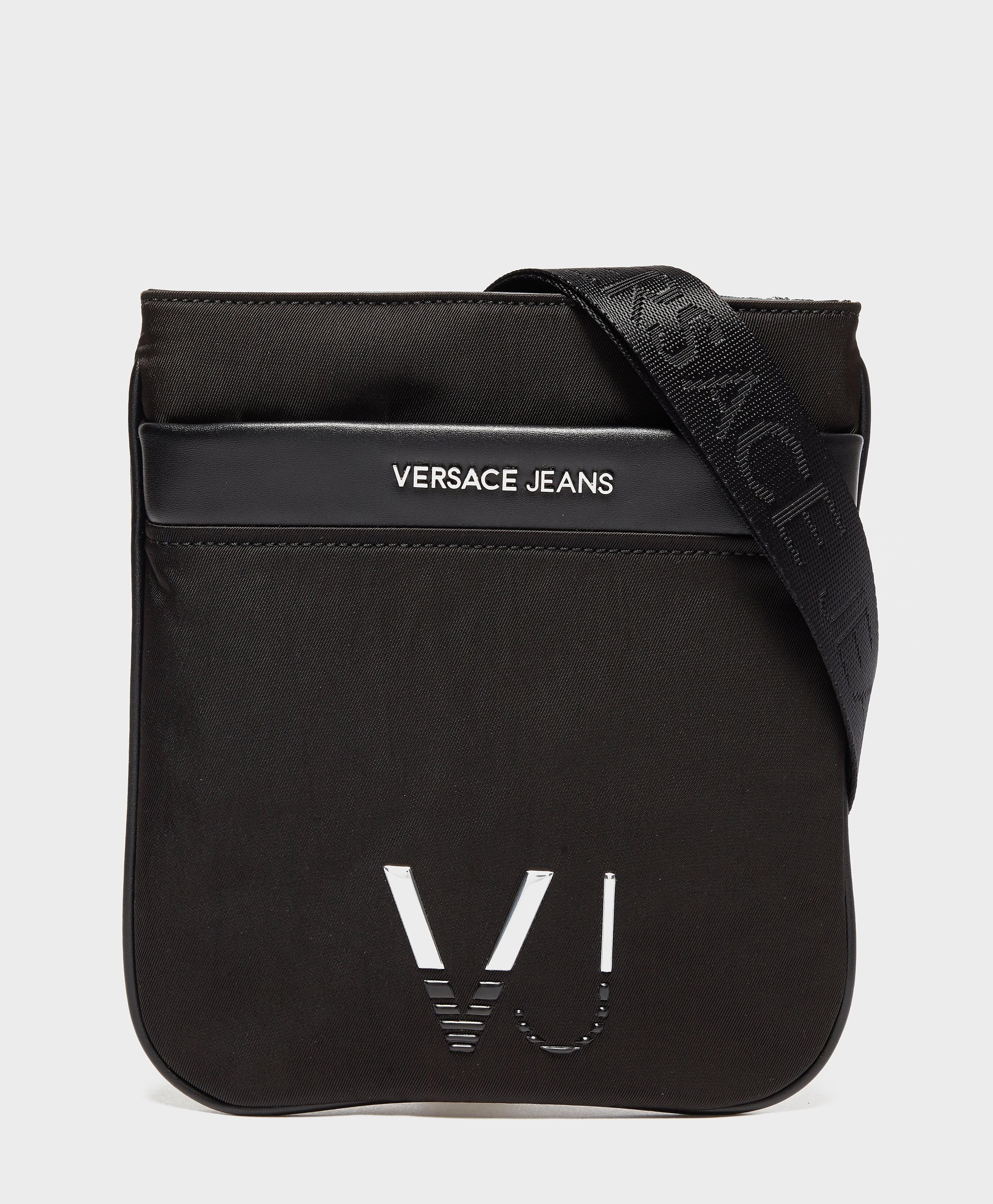 Versace Linea Logo Small Item Bag