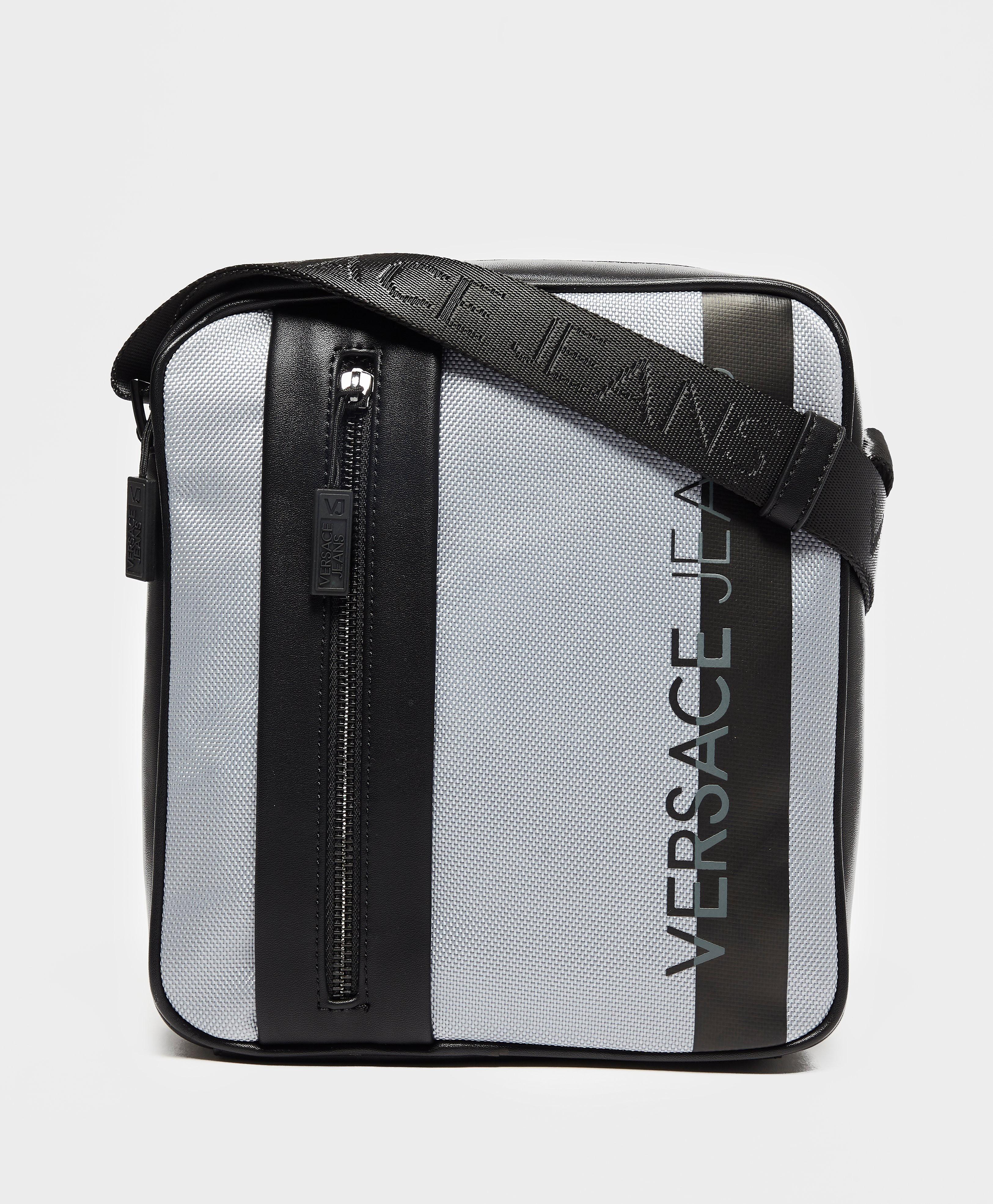 Versace Macro Logo Small Item Bag