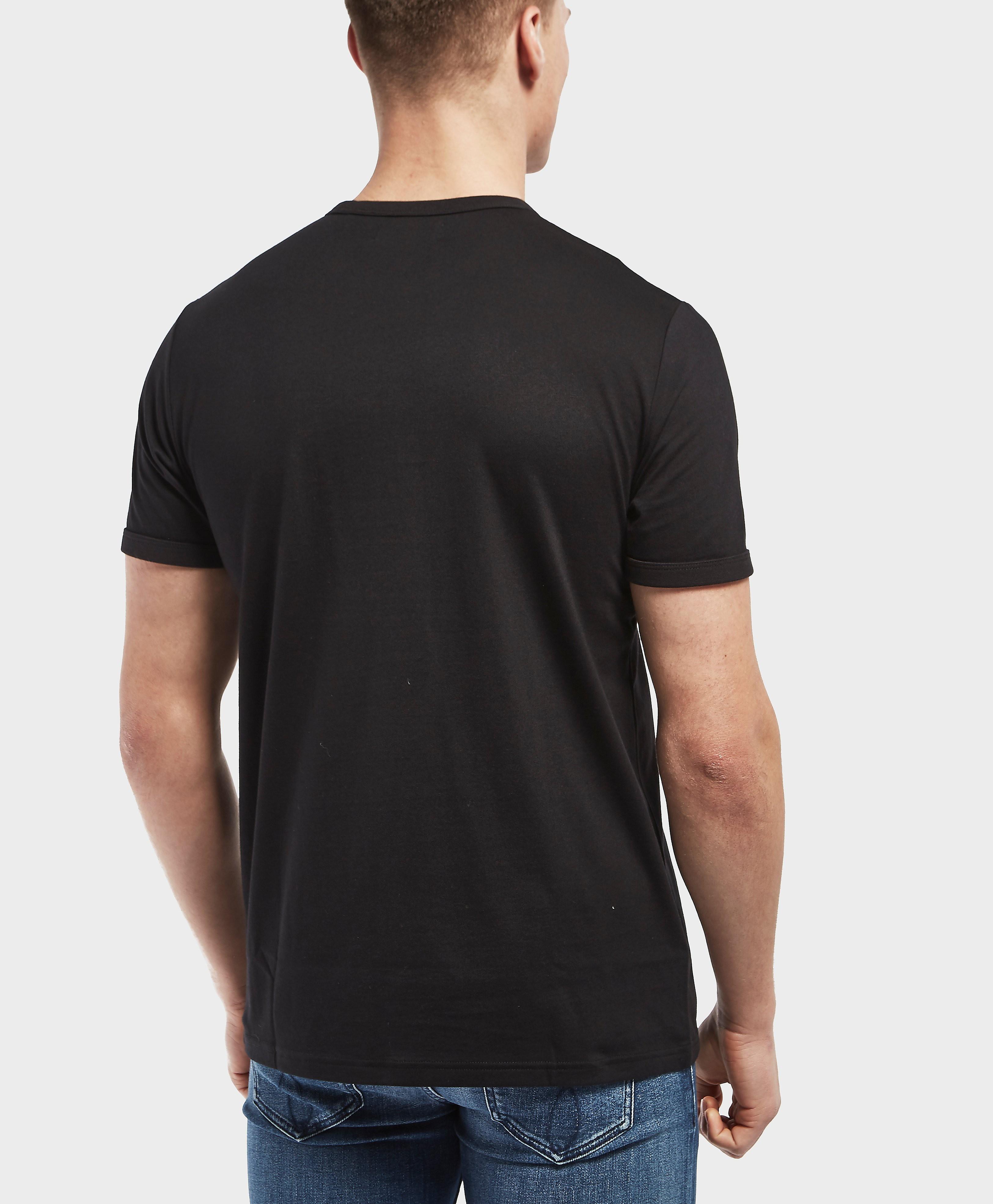 Fred Perry Laurel Box Logo Short Sleeve T-Shirt