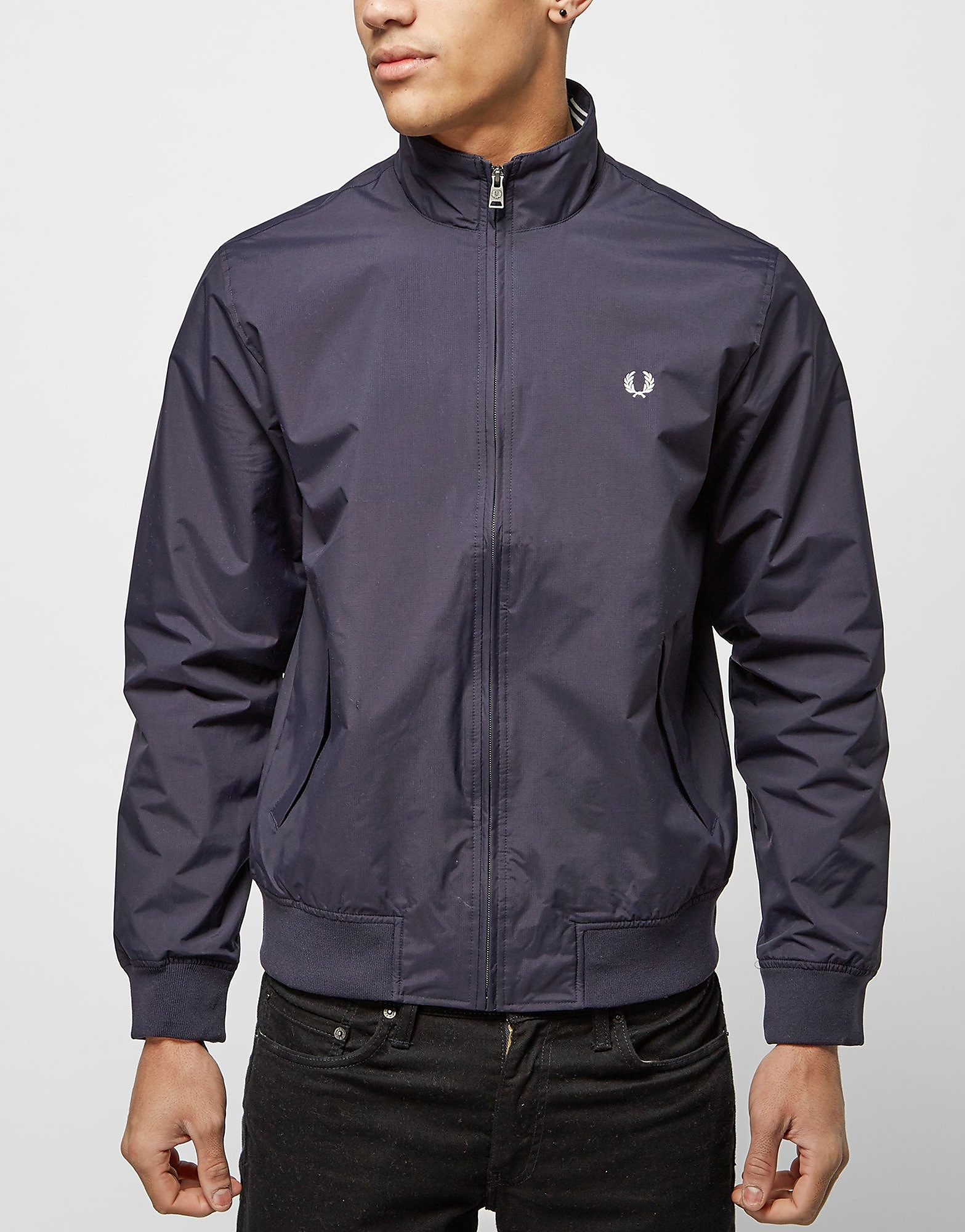Fred Perry Lightweight Brentham Jacket  Navy Navy