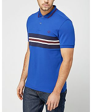 Fred Perry Stripe Insert Polo Shirt