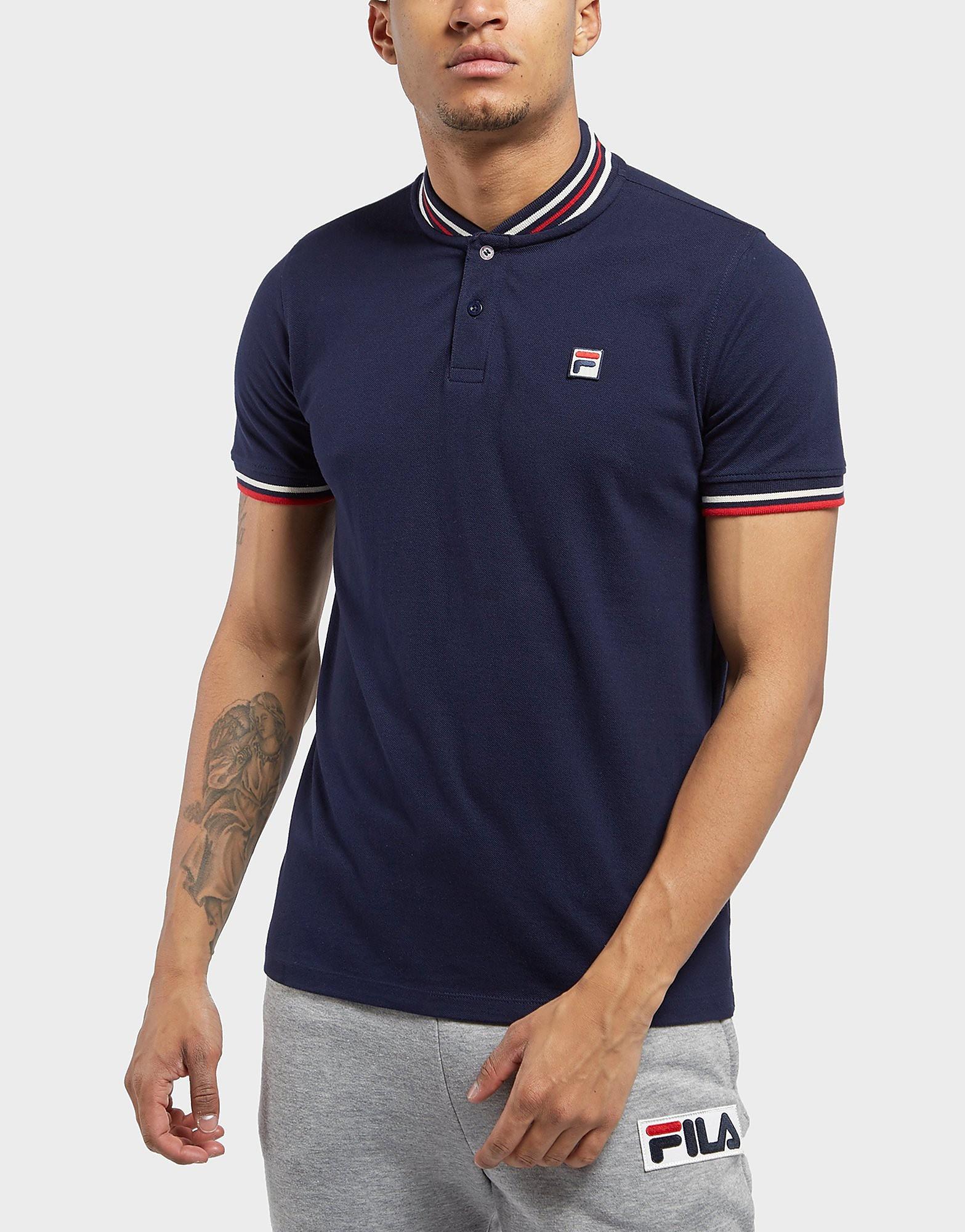 Fila Skipper Short Sleeve Bomber Polo Shirt