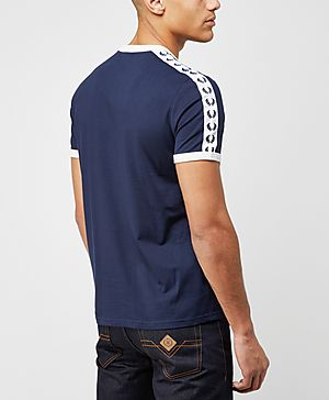 Fred Perry Taped Retro Ringer T-Shirt