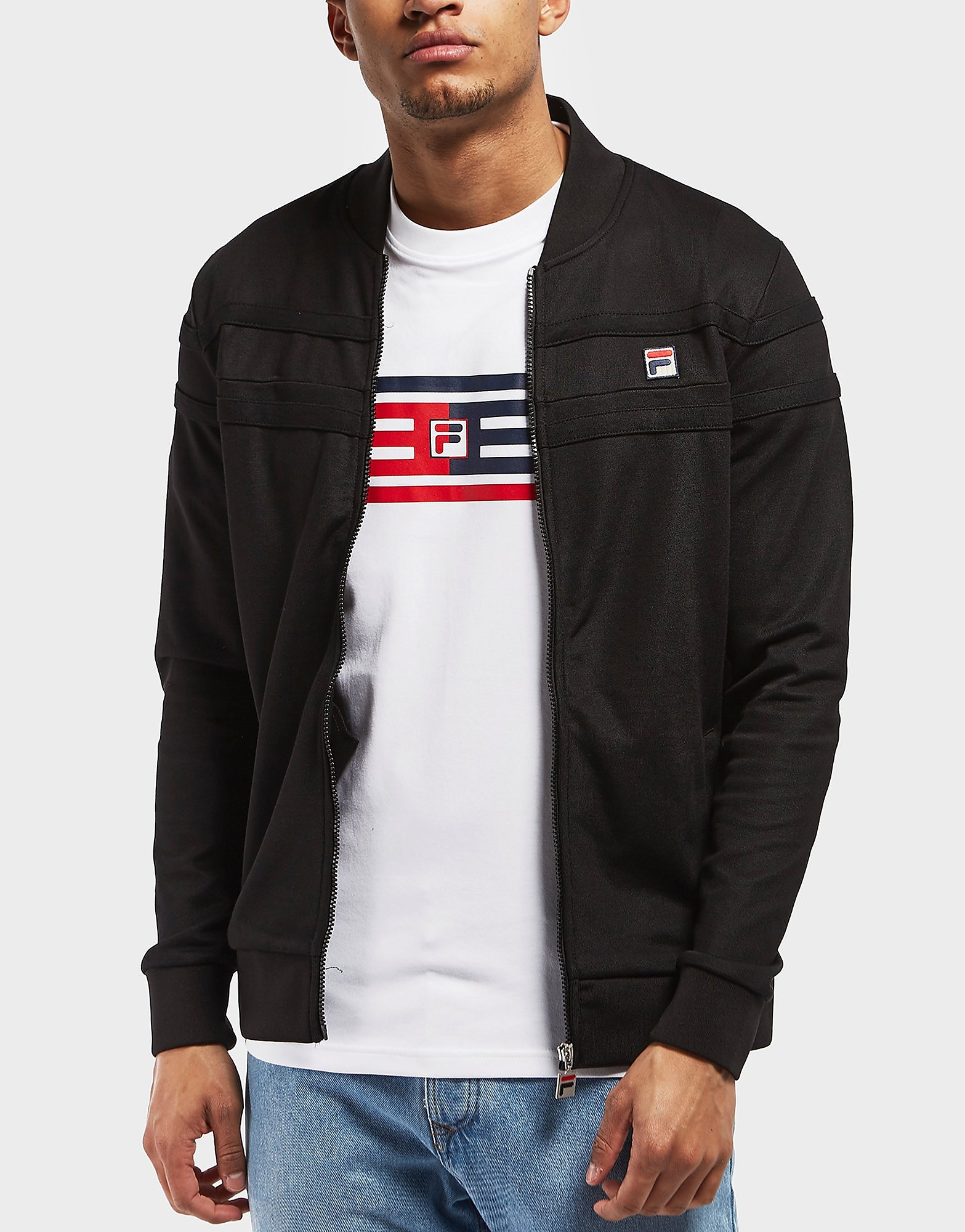 Fila Naso Pique Full Zip Track Top - Online Exclusive