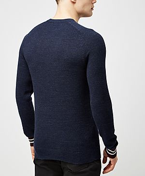 Fred Perry Textured Yarn Pique Knit
