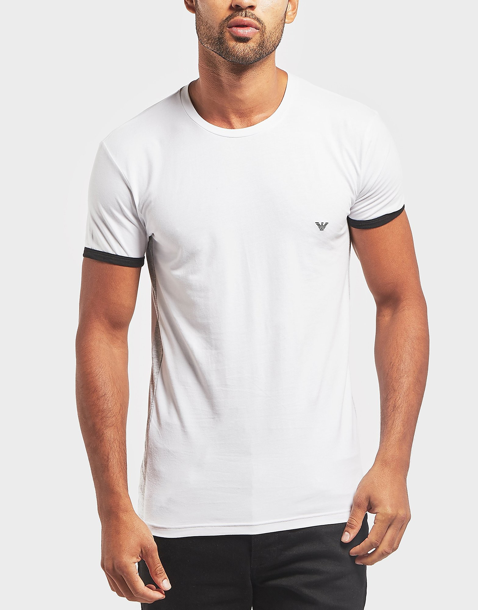 Emporio Armani Back Logo Short Sleeve T-Shirt