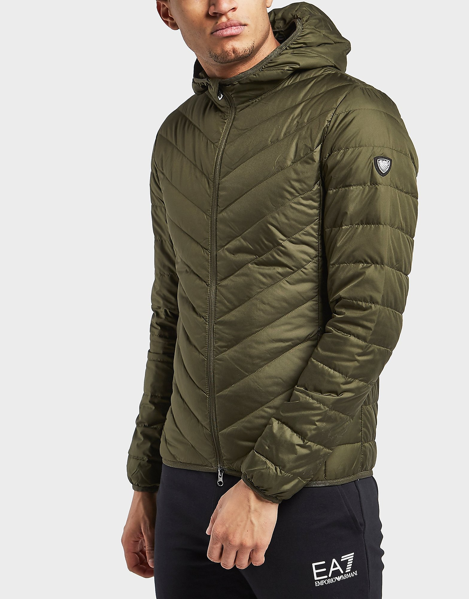 Emporio Armani EA7 Chevron Down Padded Jacket