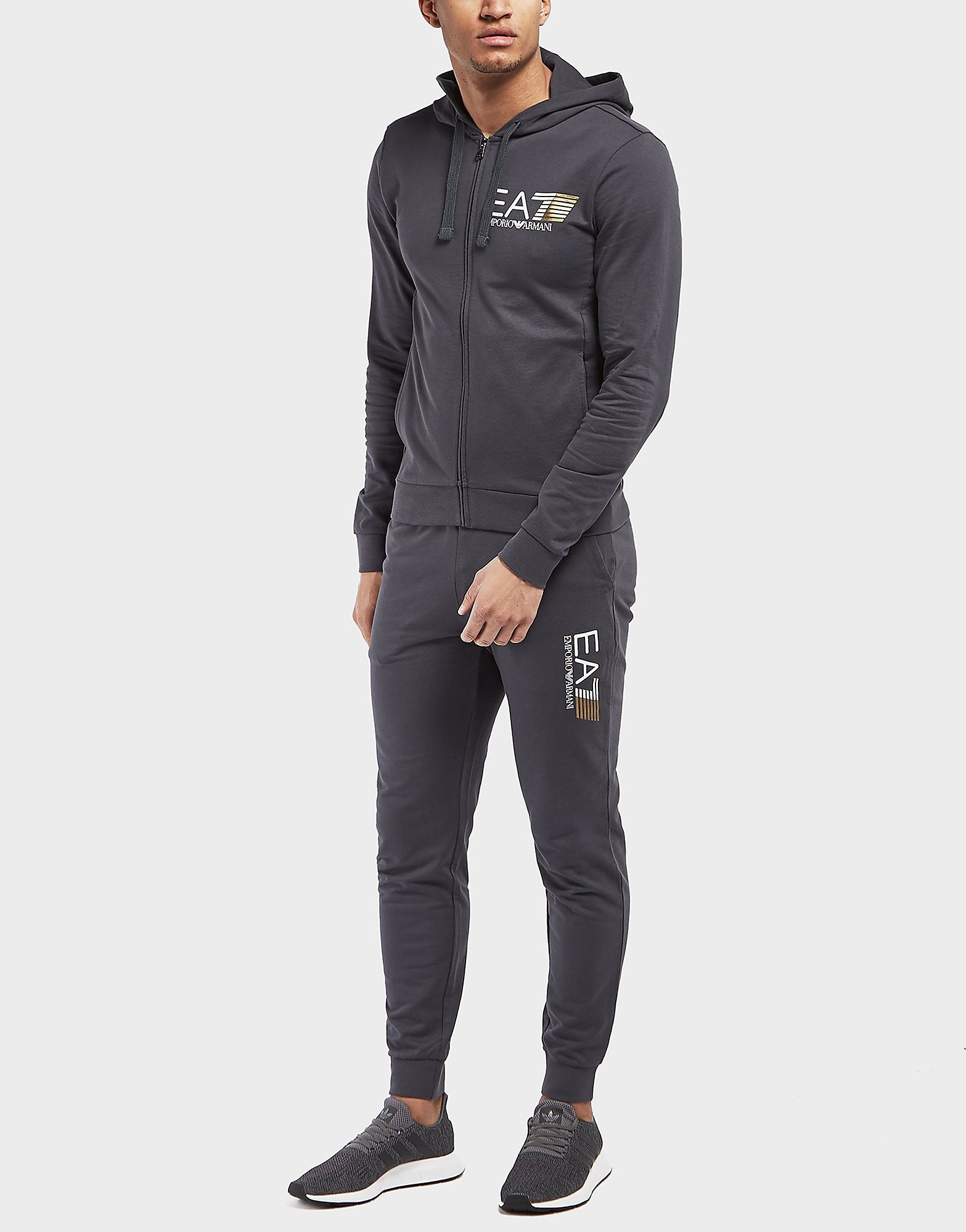 Emporio Armani EA7 Visibility 7 Full Hooded Tracksuit