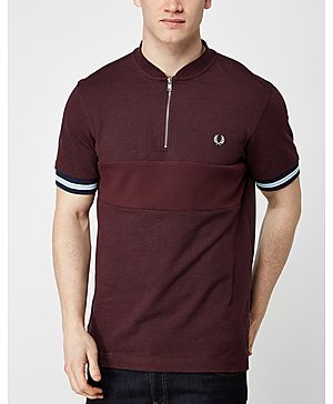 Fred Perry Bomber Textured Polo Shirt