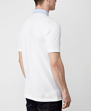Fred Perry Woven Collar Oxford Polo Shirt