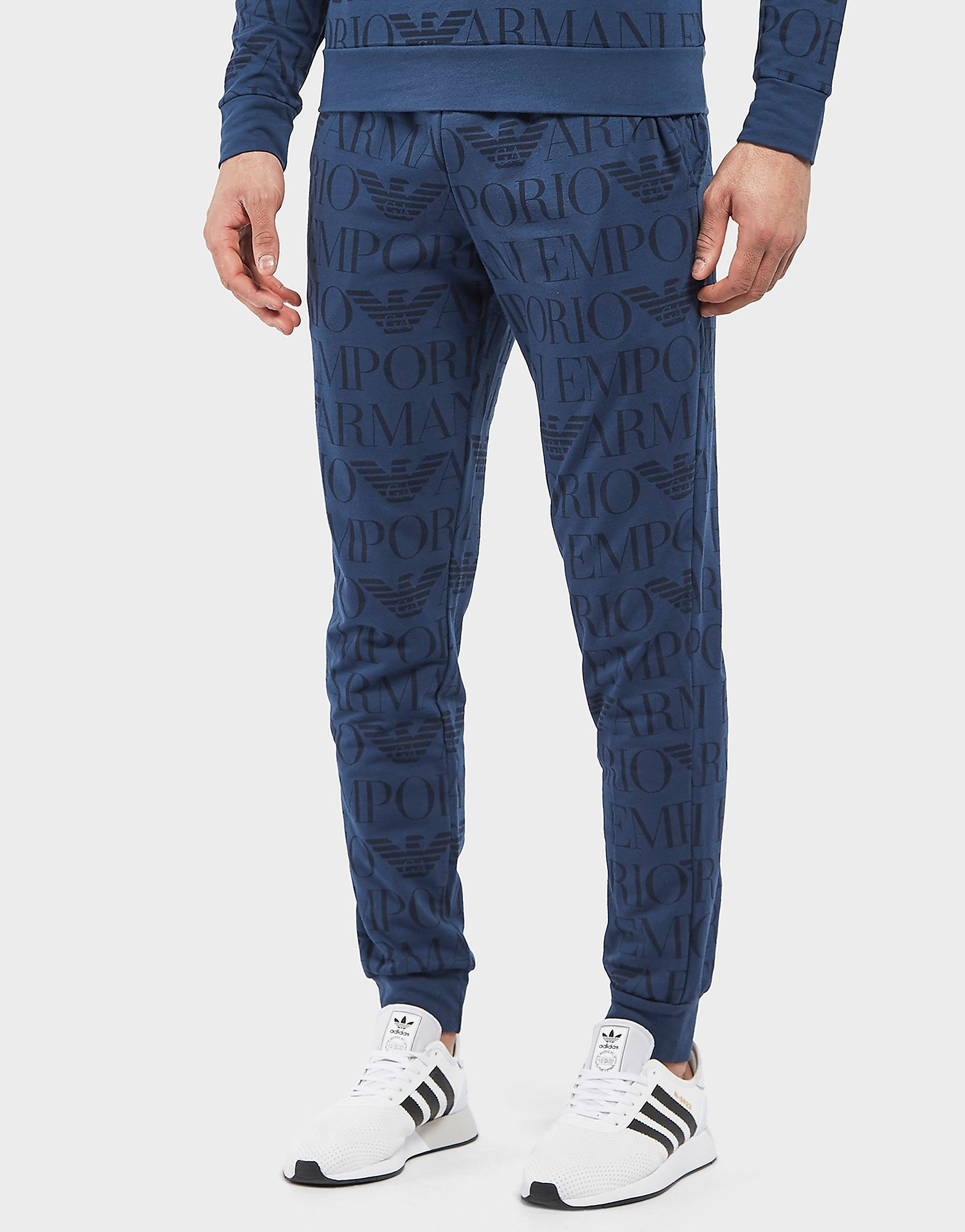 Emporio Armani All Over Print Track Pants