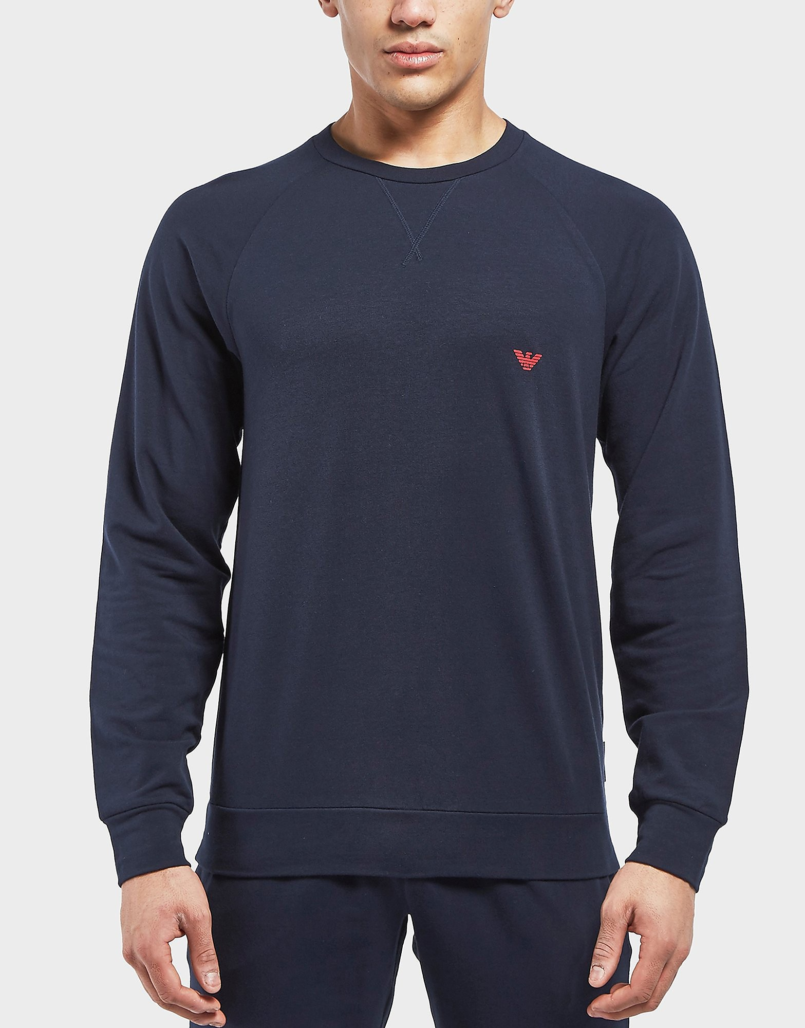Emporio Armani Shiny Back Eagle Sweatshirt