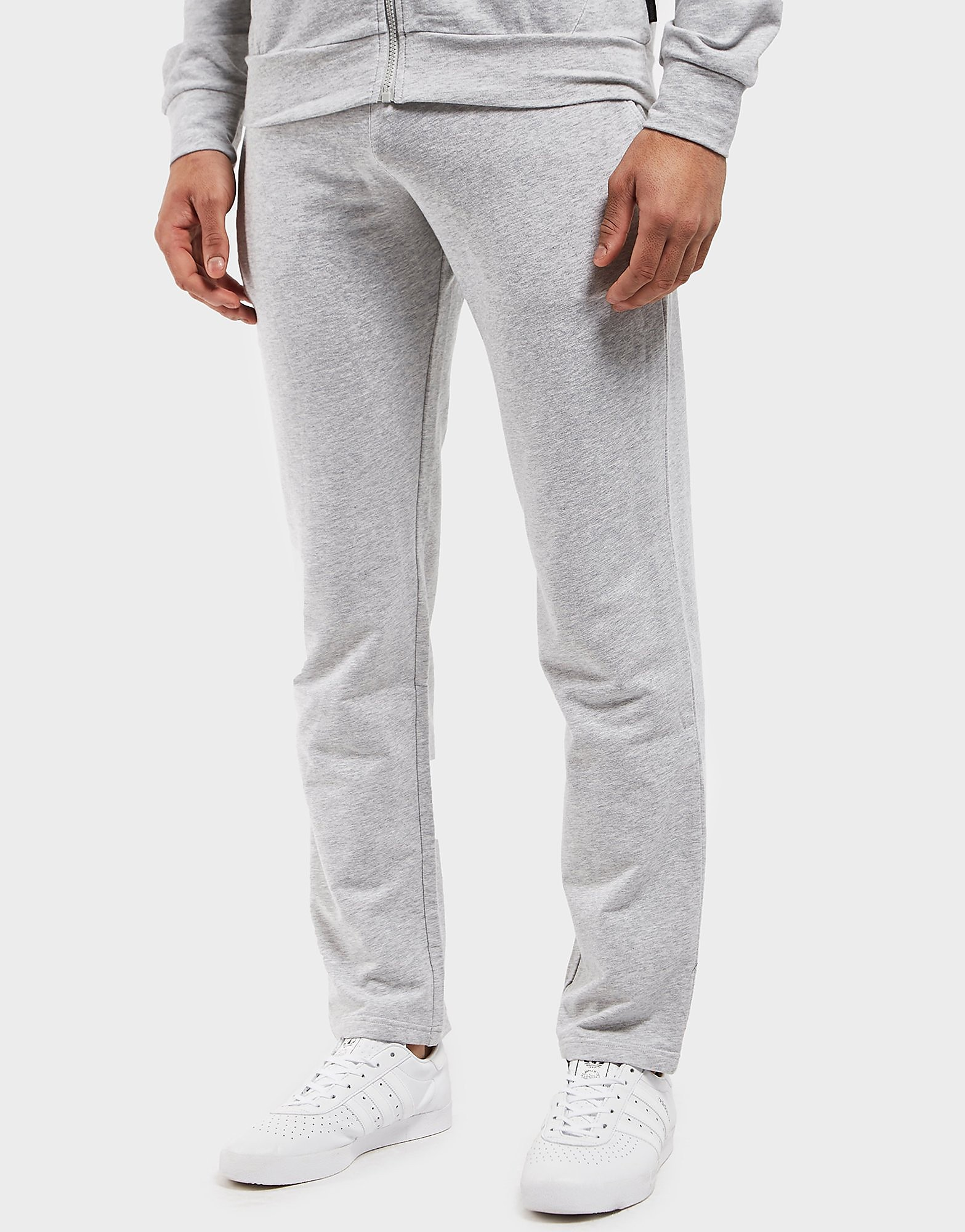 Emporio Armani Shiny Eagle Back Cuffed Track Pants