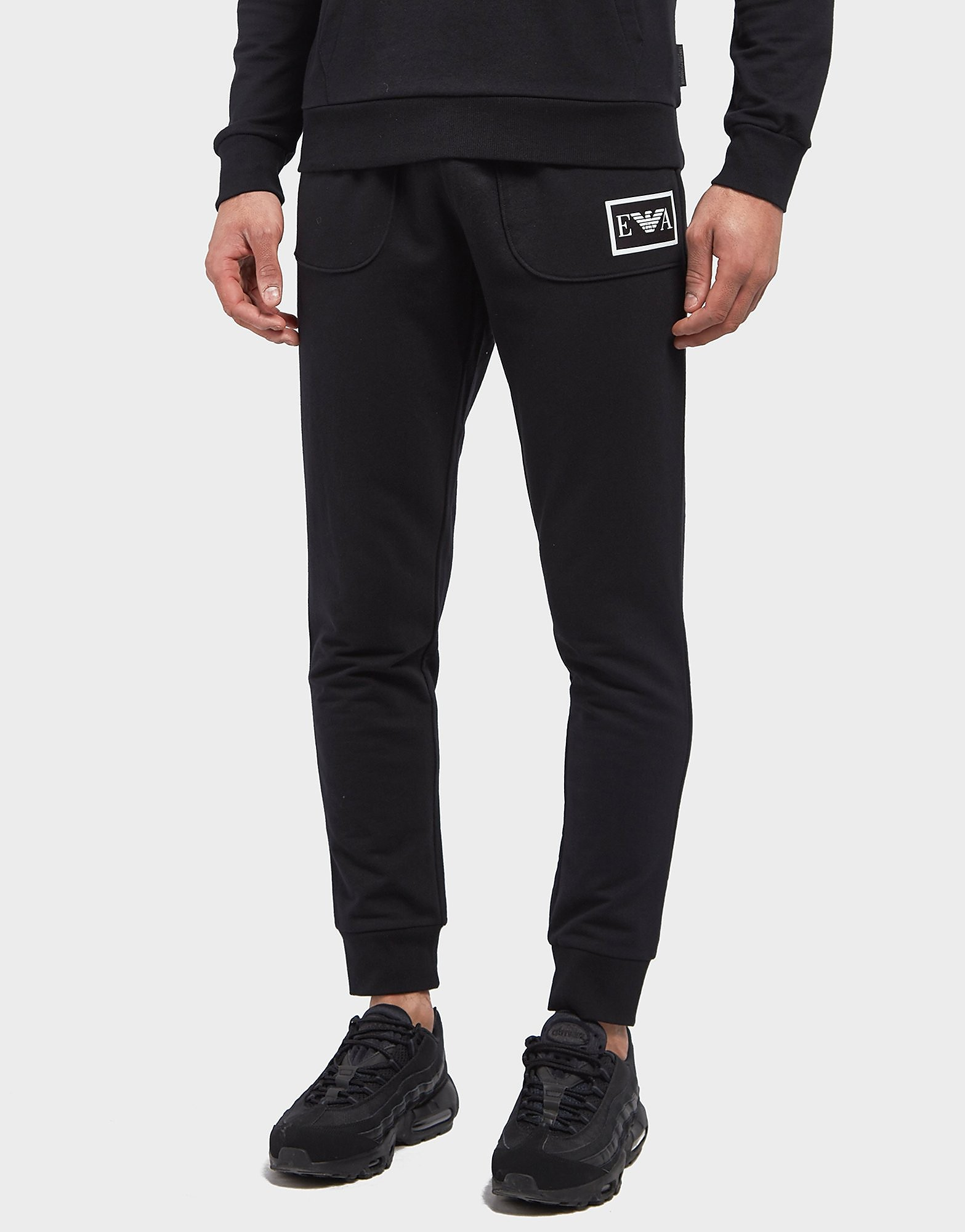 Emporio Armani Eva Cuffed Fleece Pants