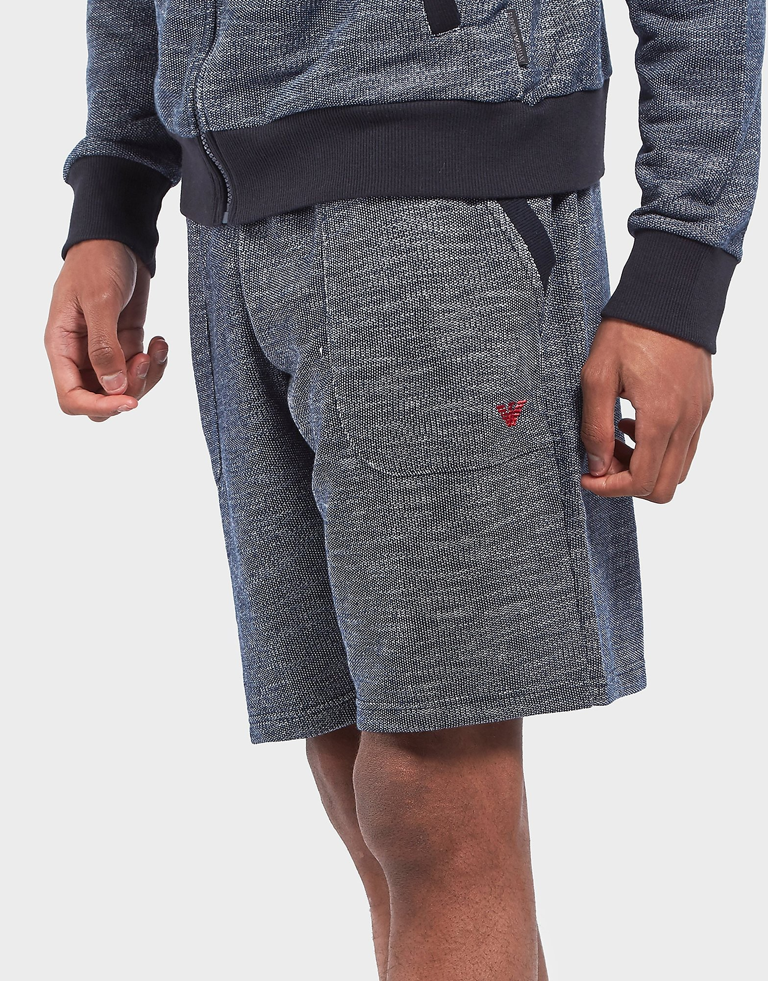 Emporio Armani Marl Fleece Shorts