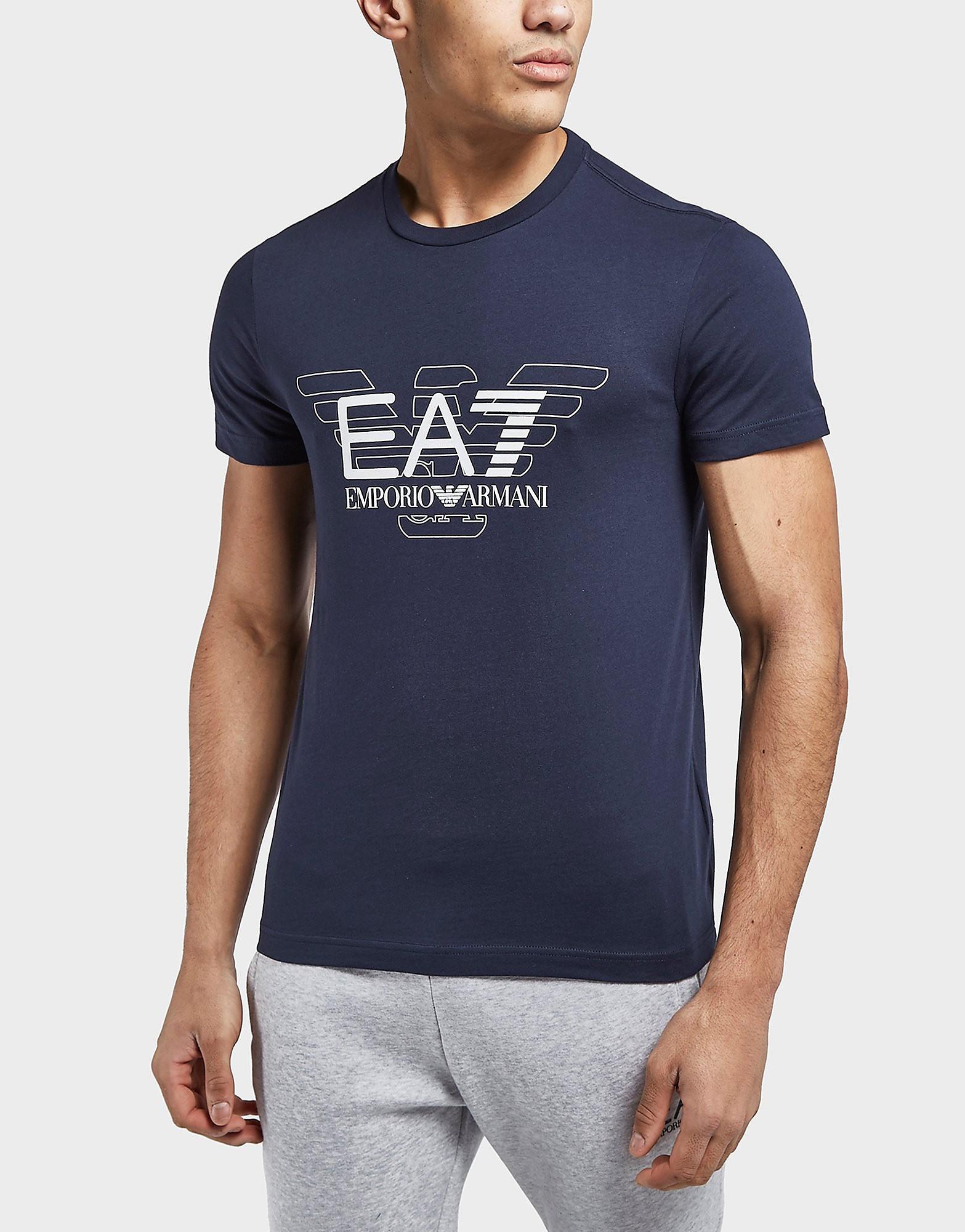 Emporio Armani EA7 Overlay Eagle Short Sleeve T-Shirt