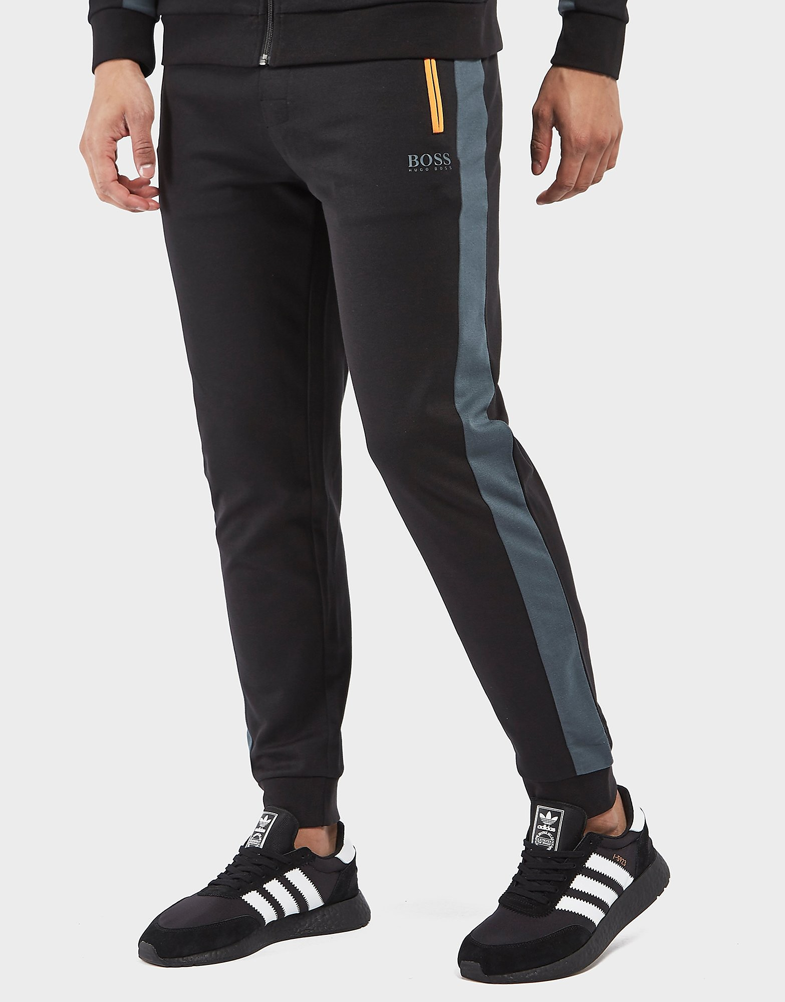 BOSS Poly Pique Cuffed Track Pants