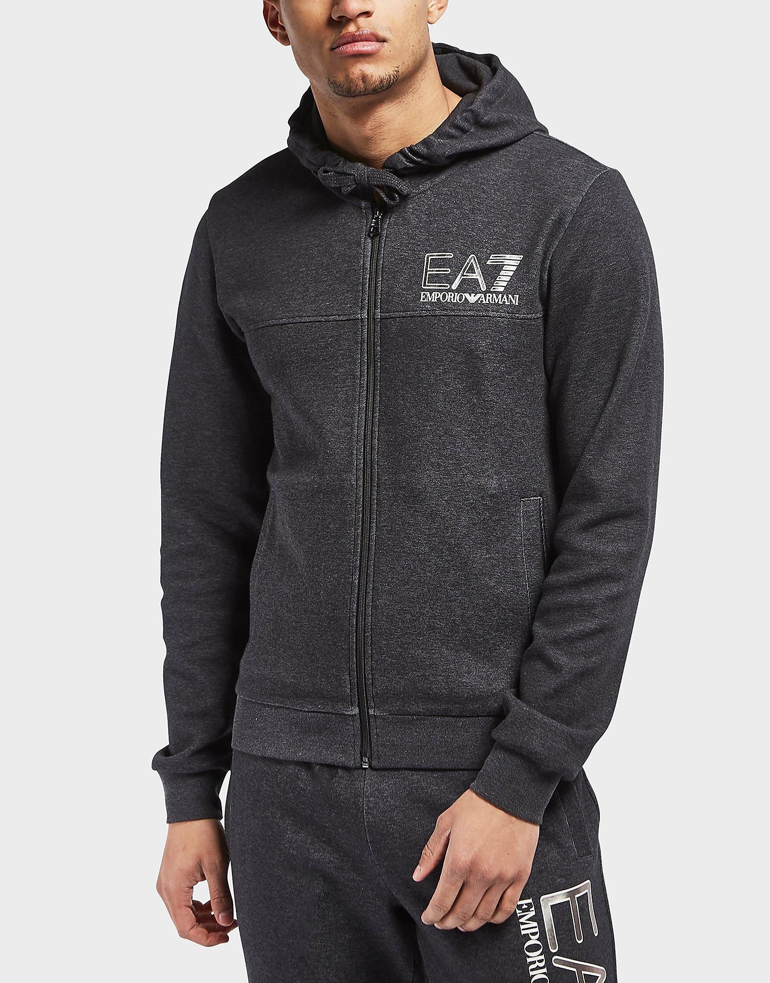 Emporio Armani EA7 Visibility Marl Full Zip Hoodie - Exclusive