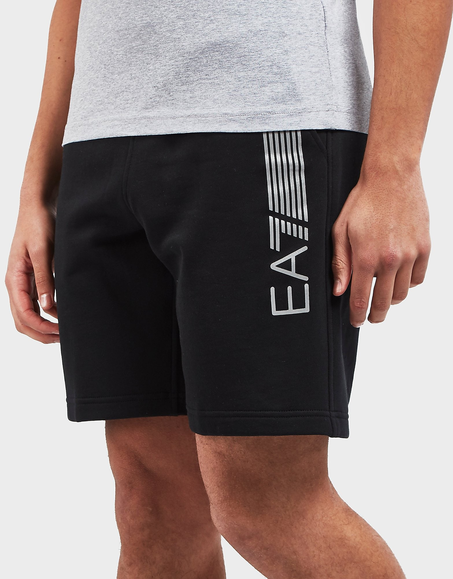 Emporio Armani EA7 7 Lines Fleece Shorts - Exclusive