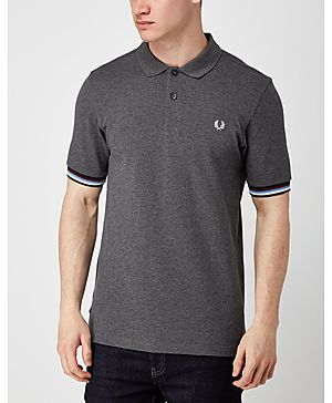 Fred Perry Bradley Wiggins Stripe Cuff Polo Shirt