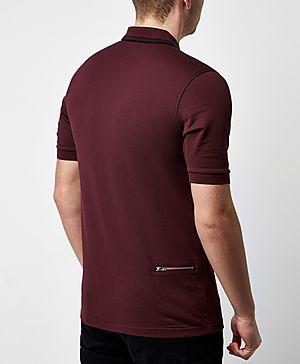 Fred Perry Bradley Wiggins Stripe Polo Shirt