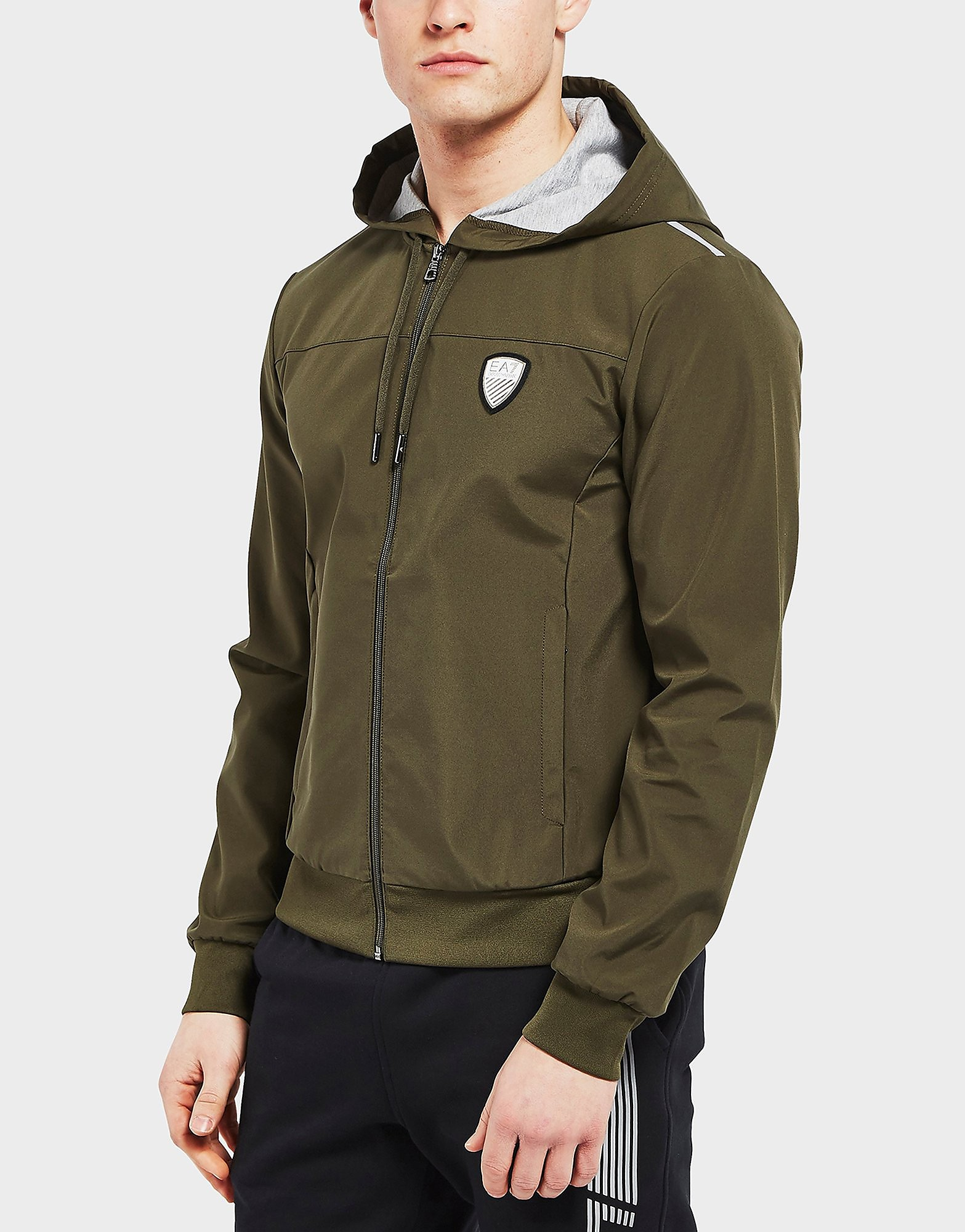Emporio Armani EA7 Softshell Full Zip Hoodie - Exclusive