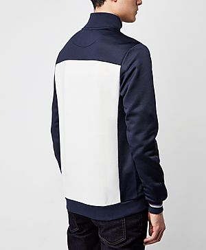 Fred Perry Blue White Panel Track Top