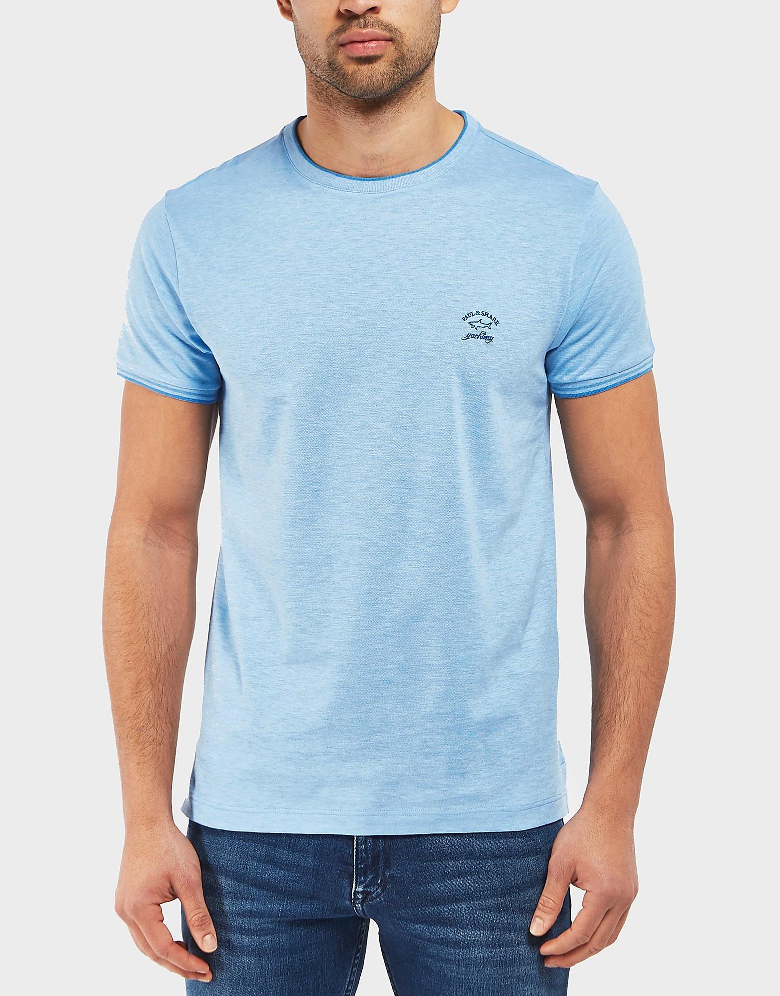 Paul and Shark Birds Pique Short Sleeve T-Shirt