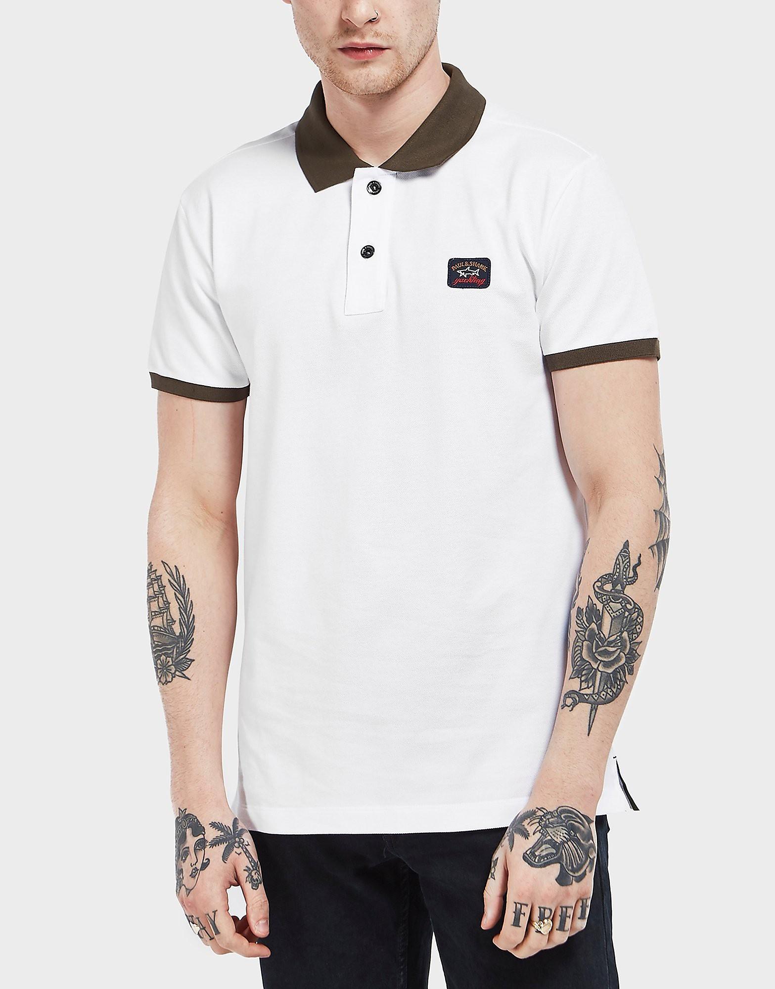 Paul and Shark Contrast Short Sleeve Polo Shirt