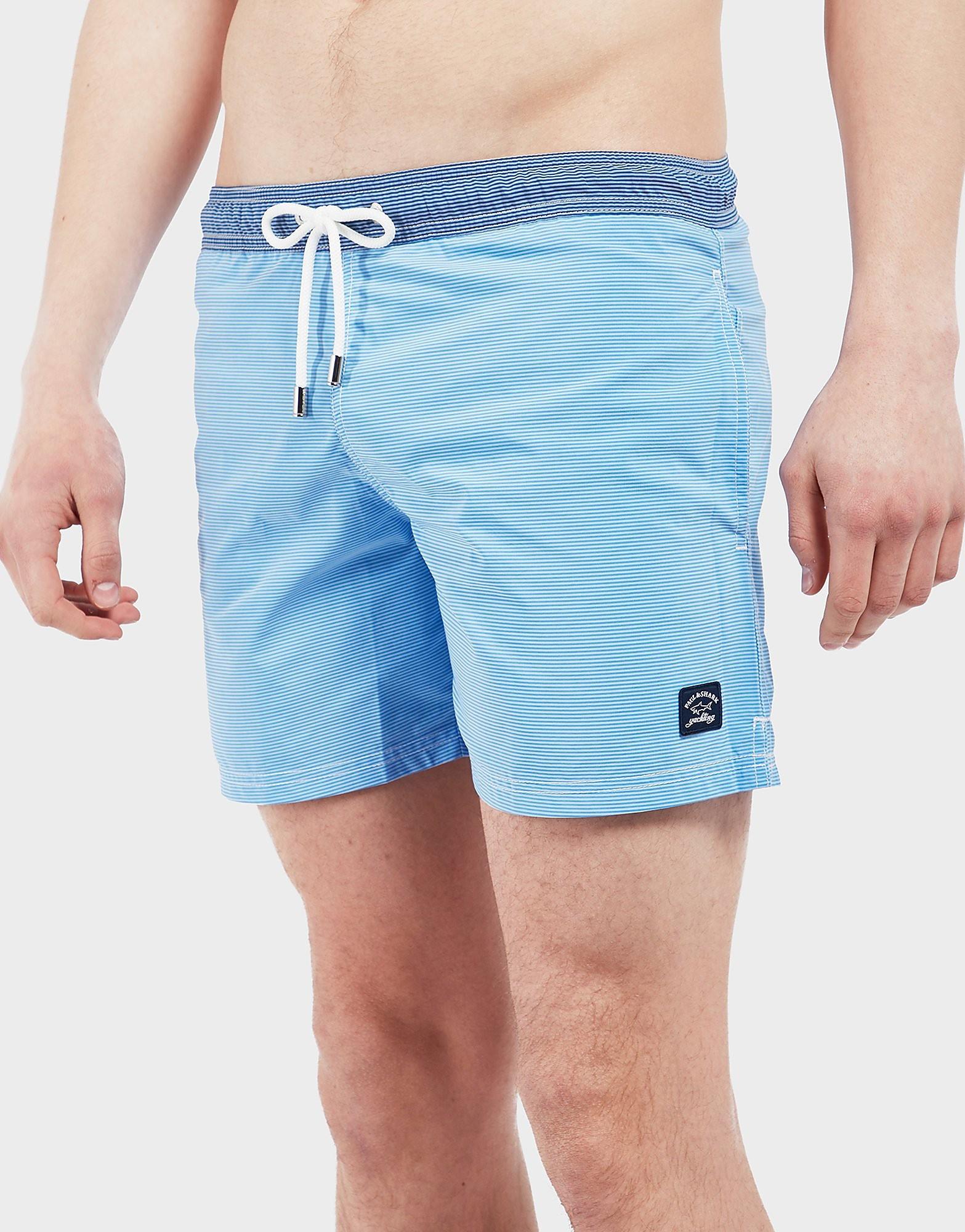 Paul and Shark Stripe Swim Shorts