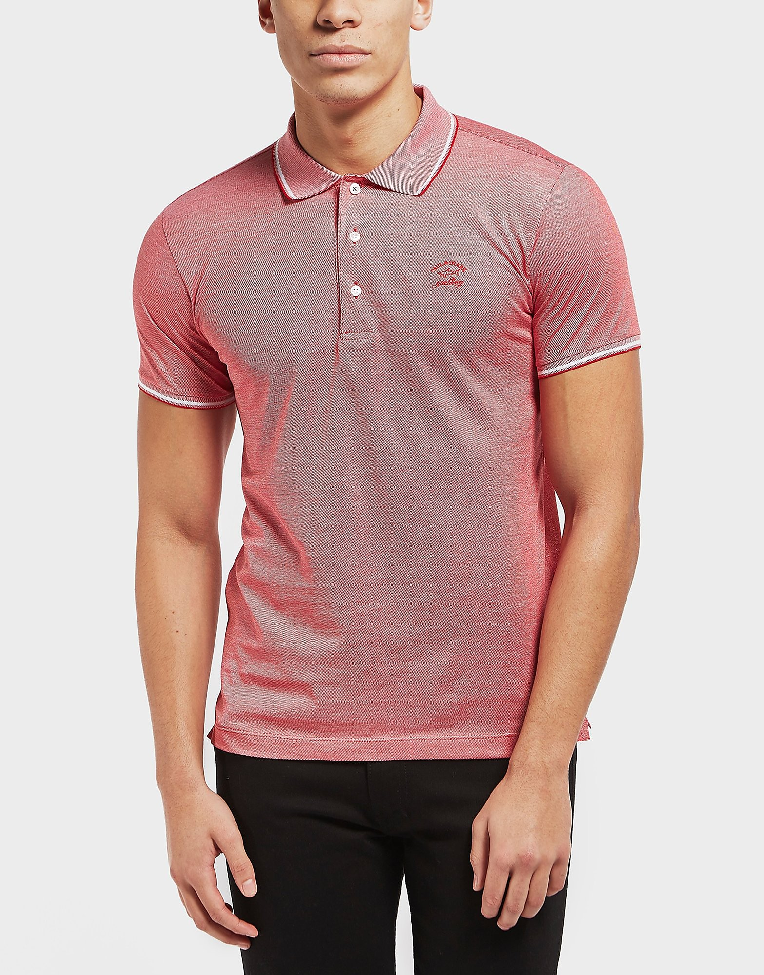 Paul and Shark Birdseye Pique Short Sleeve Polo Shirt