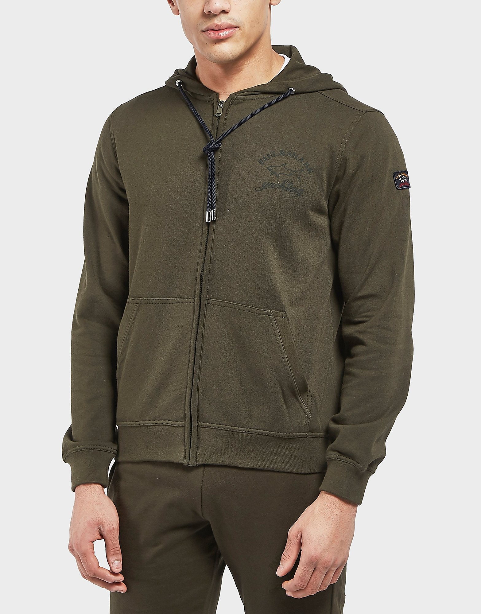 Paul and Shark Core Full Zip Hoodie